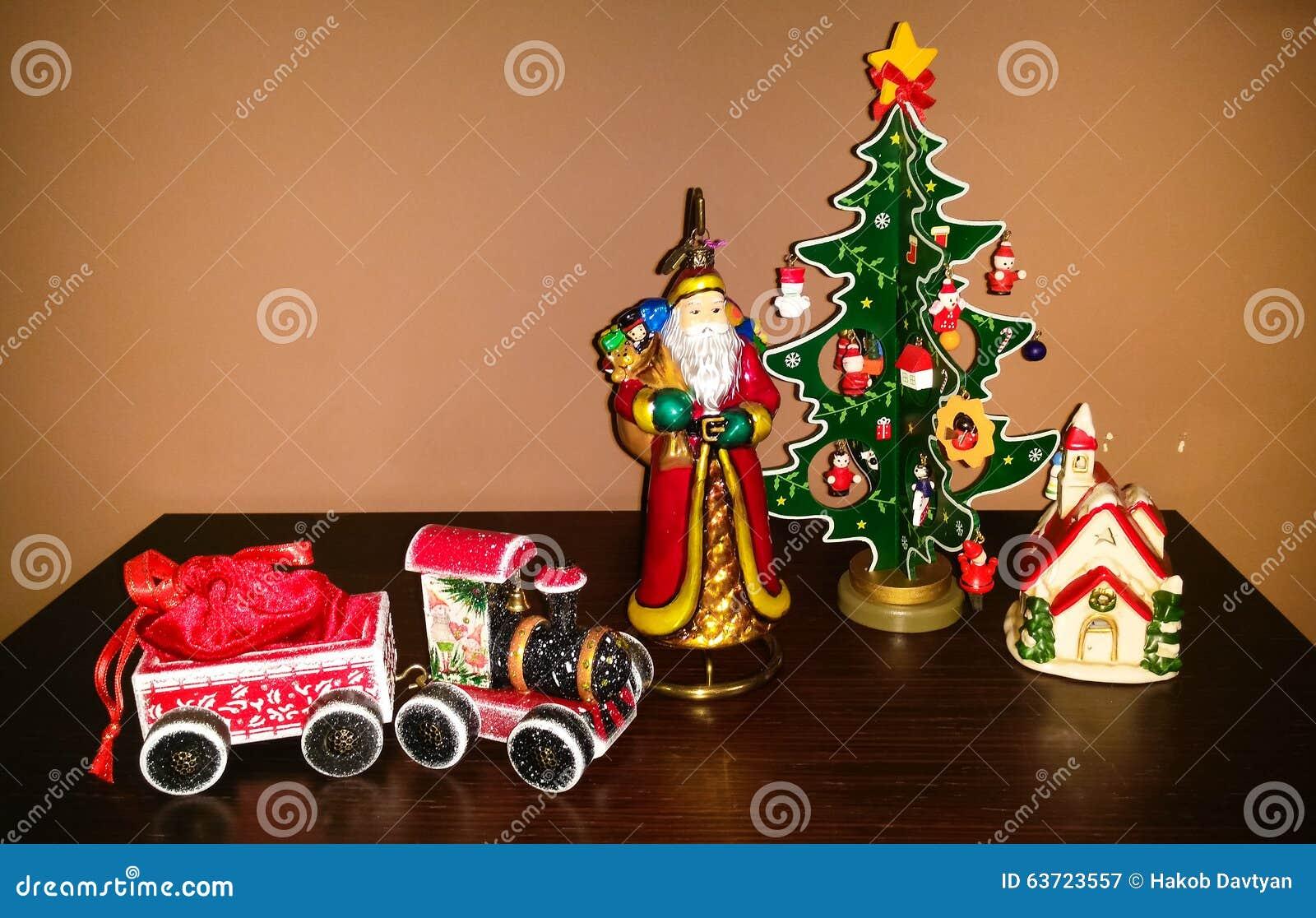 Neues Jahr und Weihnachten