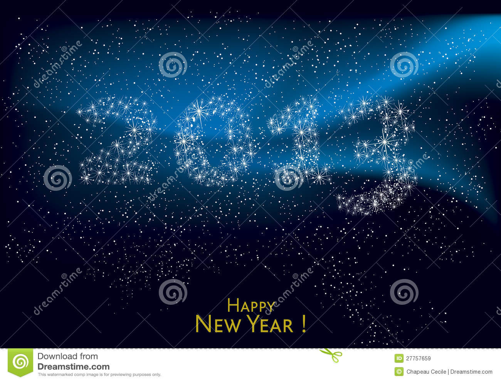 An neuf heureux 2013