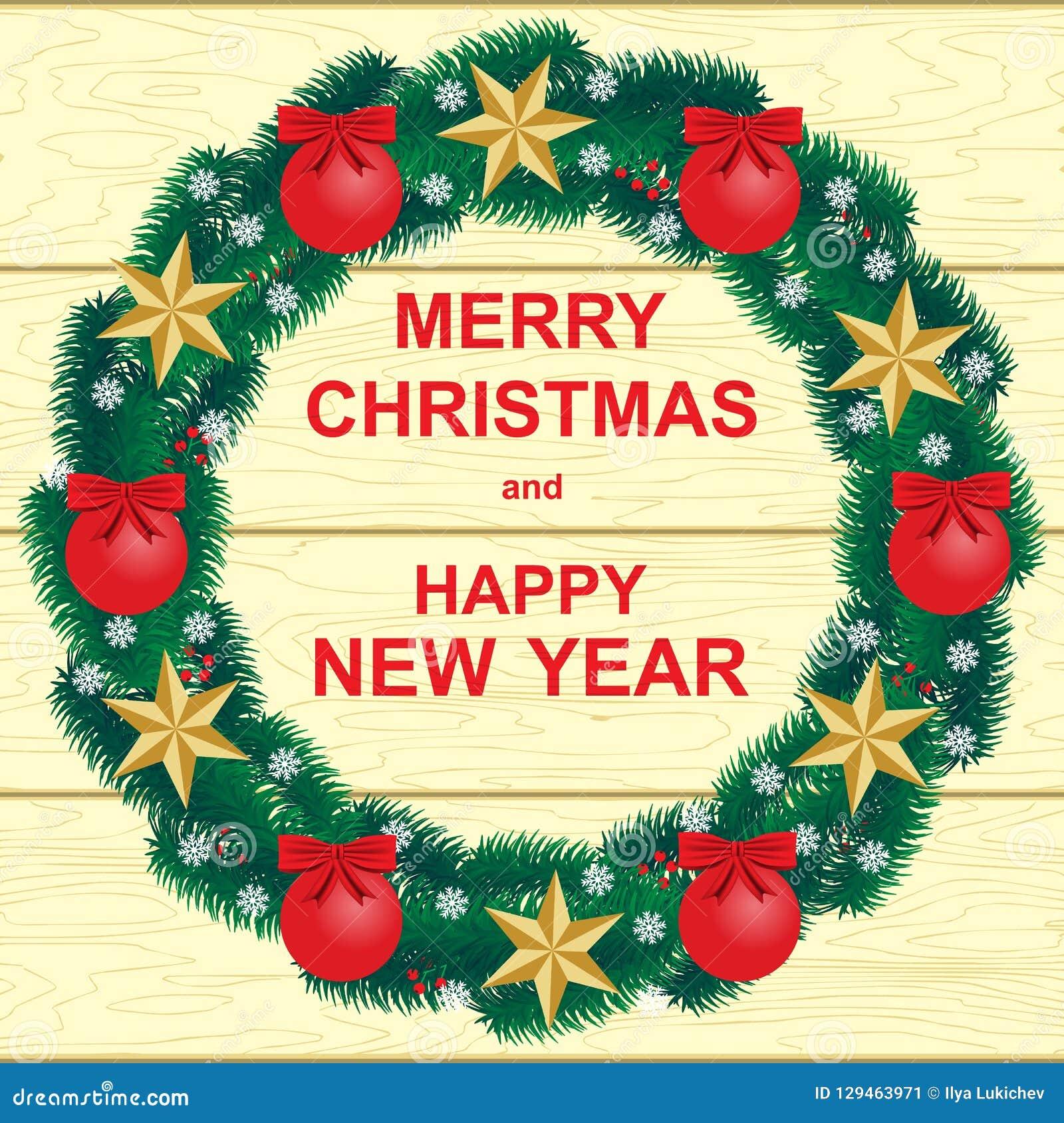 An neuf heureux de Noël joyeux