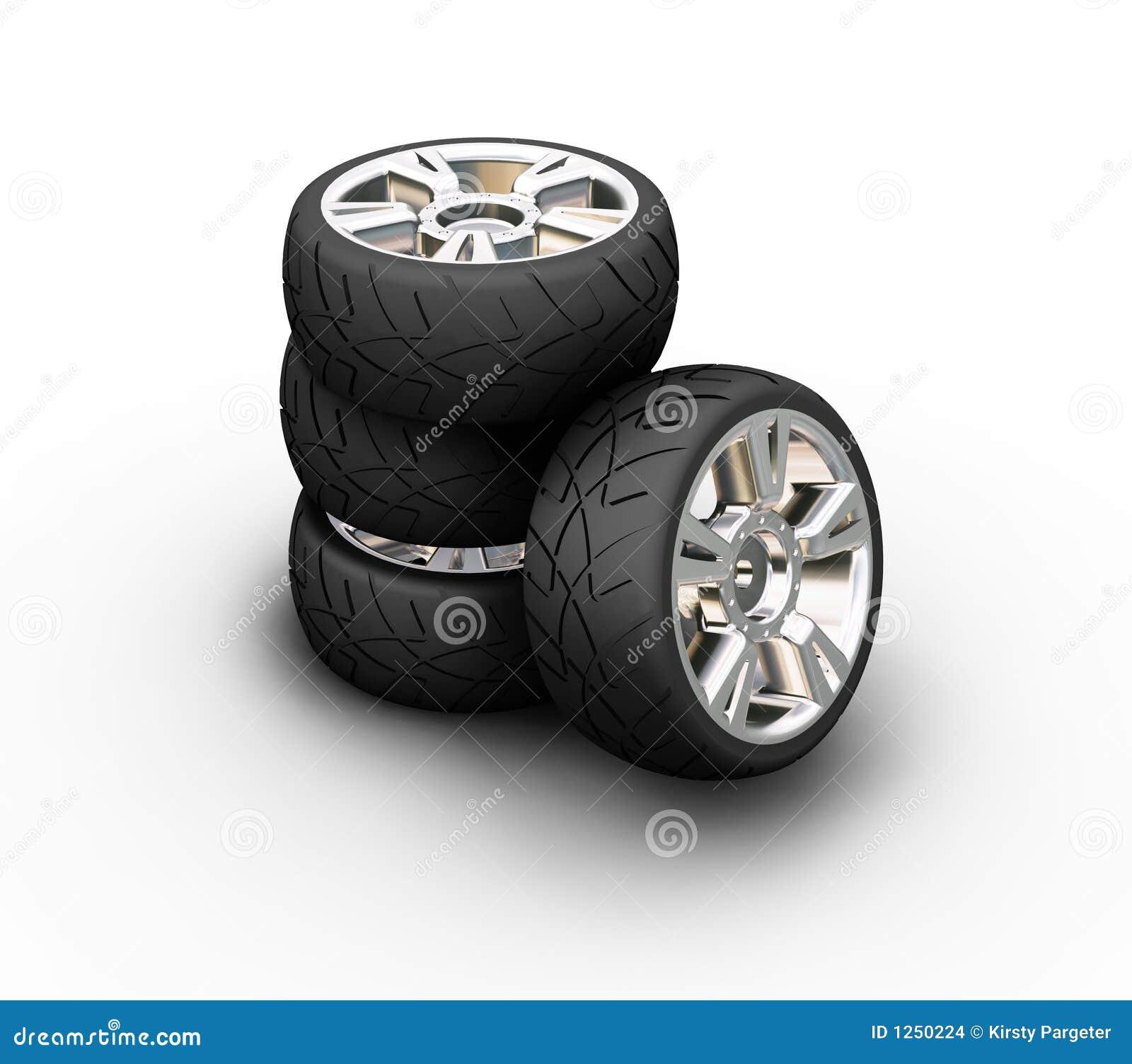 Neumáticos del coche