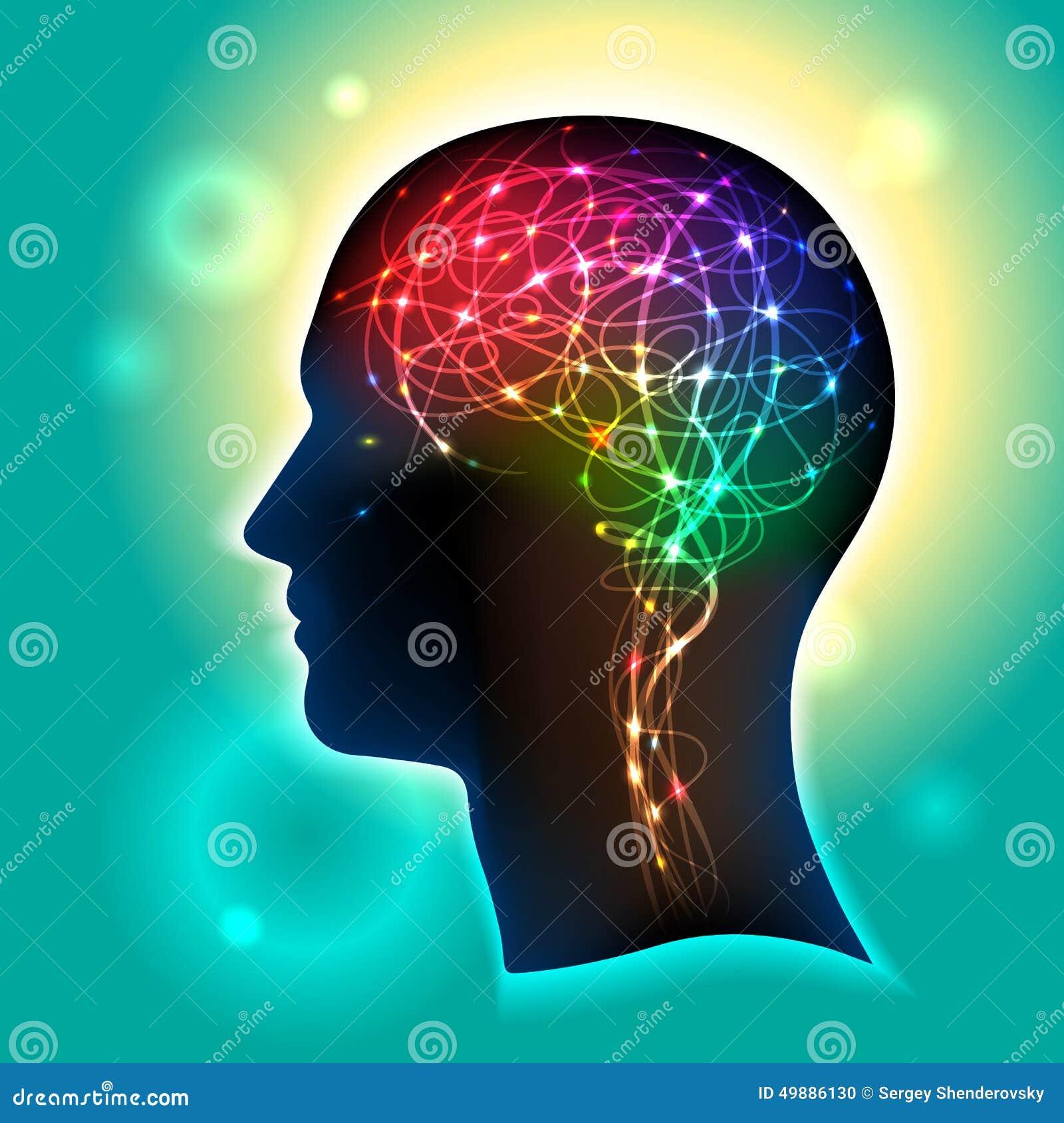 Neurônios no cérebro