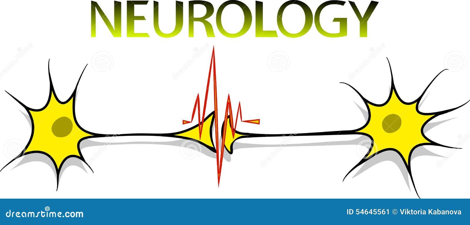 neurology logo stock vector image 54645561