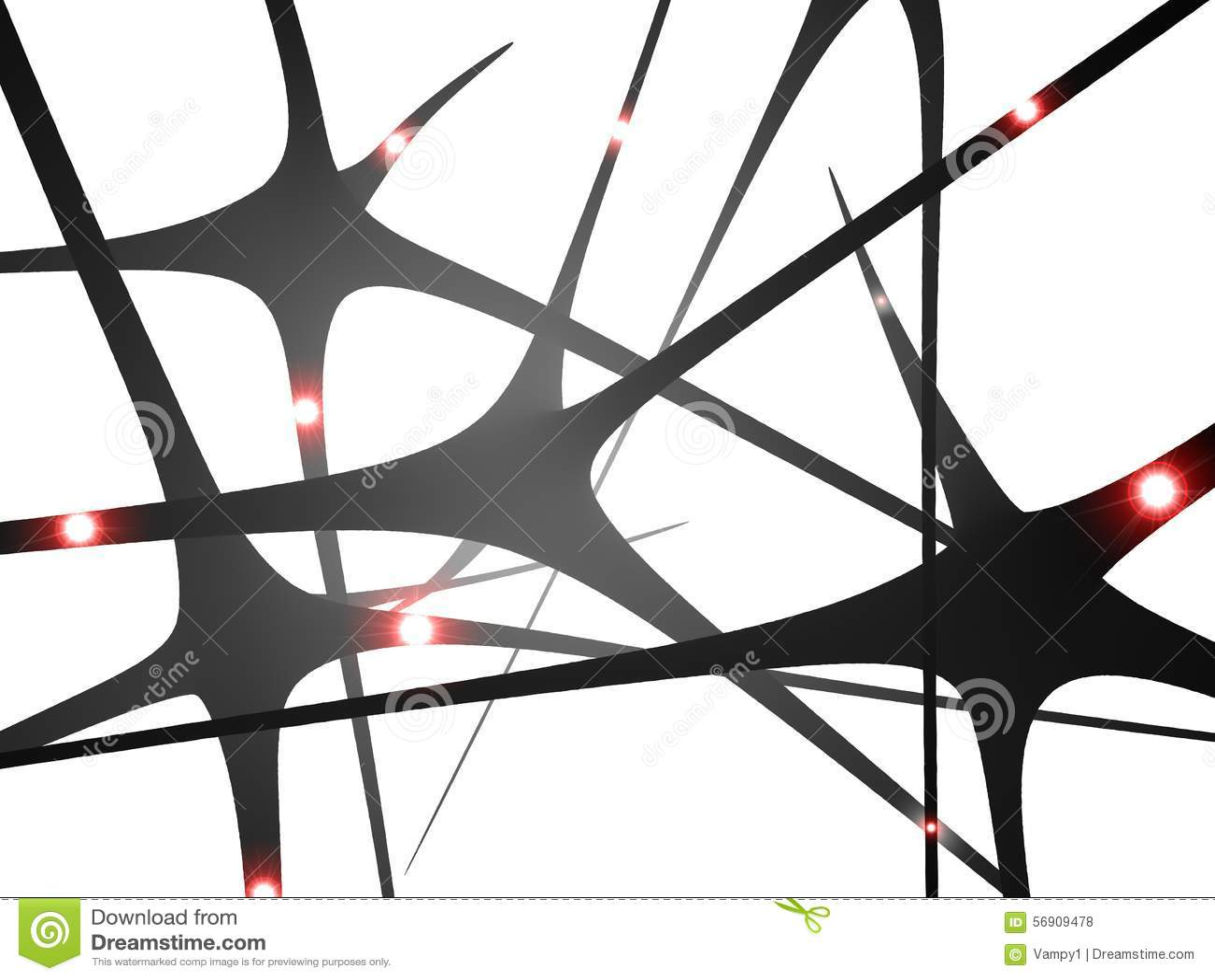 Neuronas, comunicación del cerebro de las sinapsis,