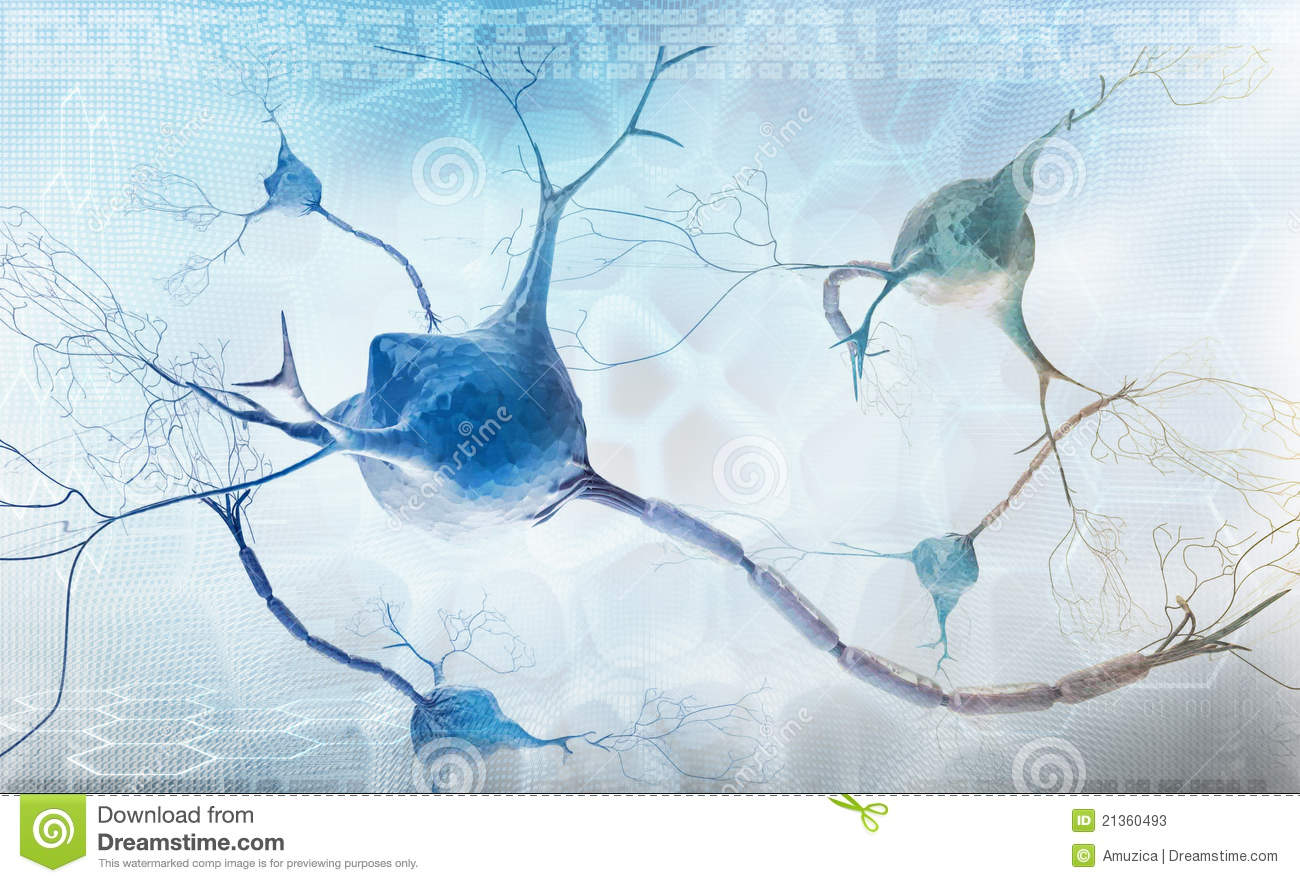 Neurons And Nervous System - Abstract Background Stock Photos - Image ...