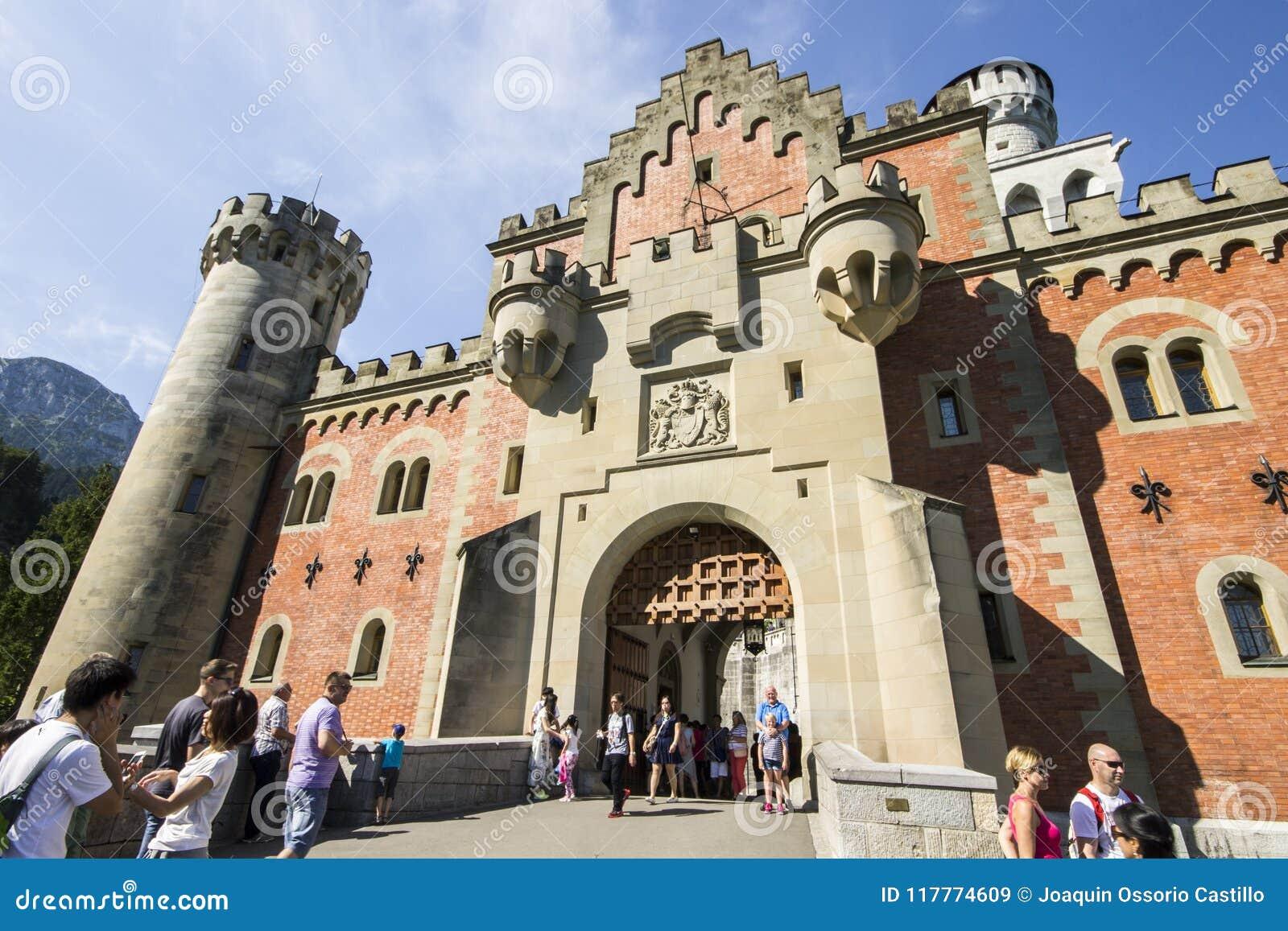 Neuschwanstein Германии замока