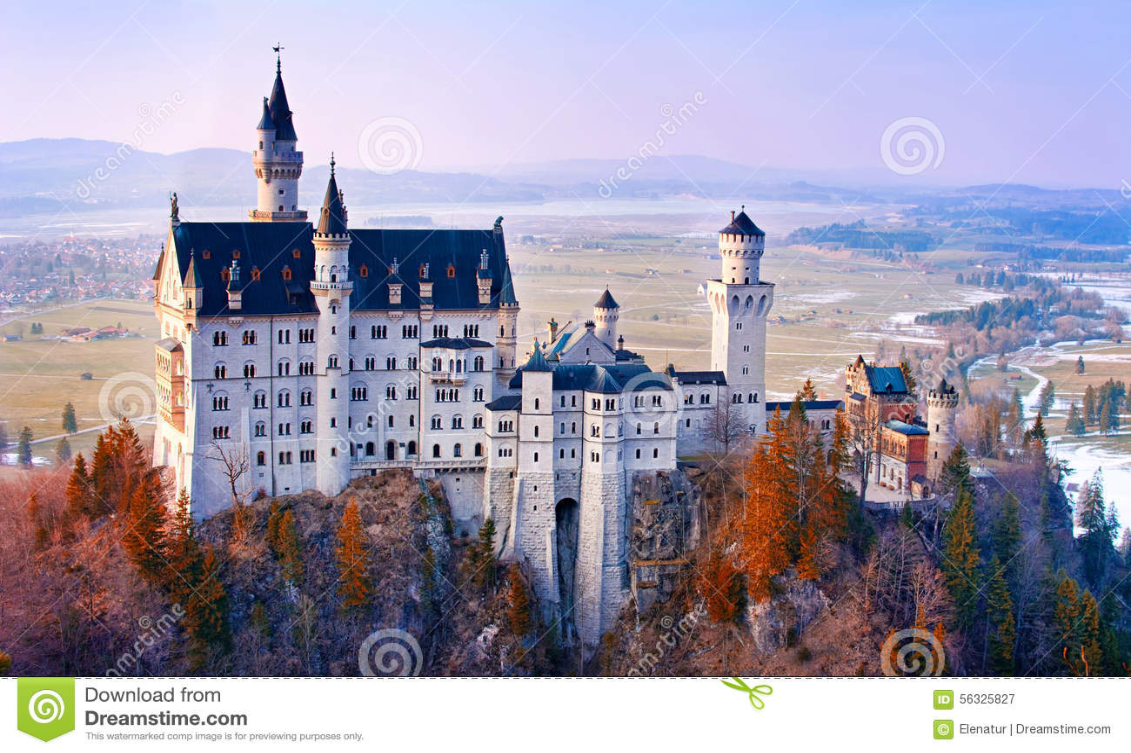 neuschwanstein beautiful fairytale castle near munich