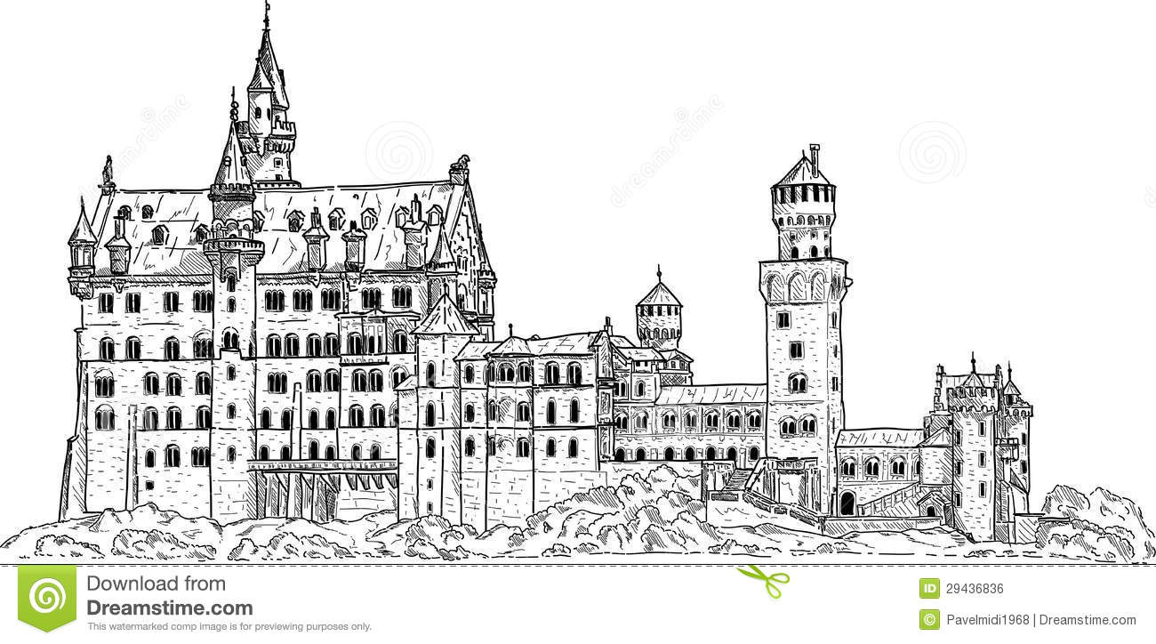 Royalty Free Stock Image Neuschwanstein Castle Image29436836 on Neuschwanstein Castle Floor Plan Minecraft