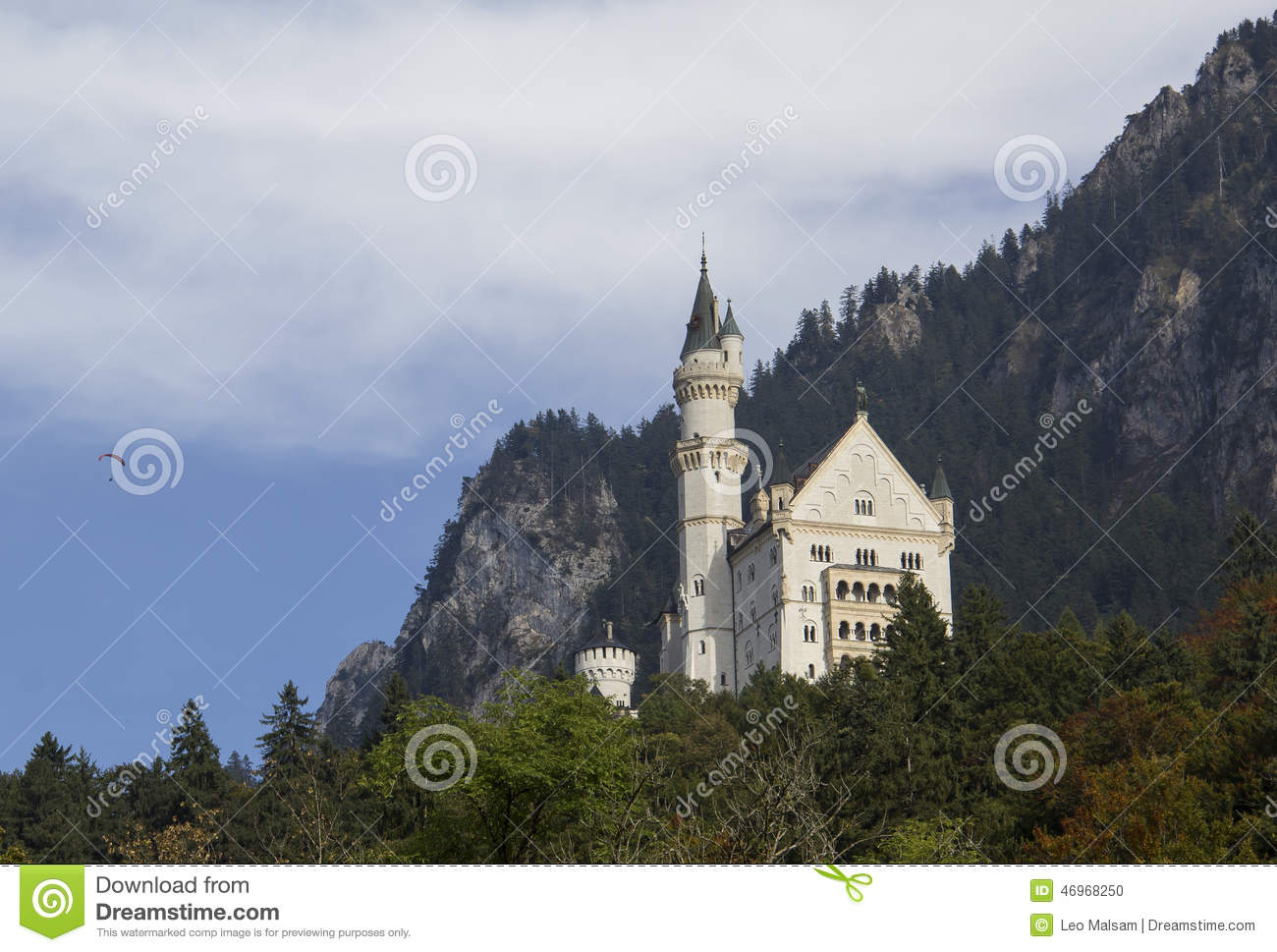 Neuschwanstein Castle Stock Photo Image 46968250