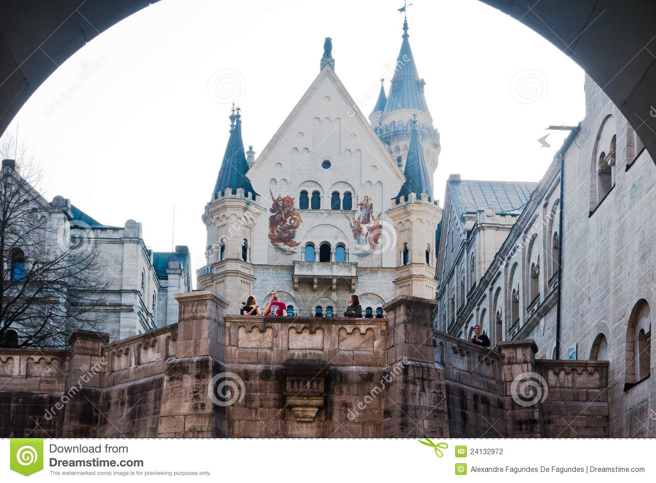 Fussen Germany  City new picture : Neuschwanstein Castle Fussen Germany Editorial Photography Image ...