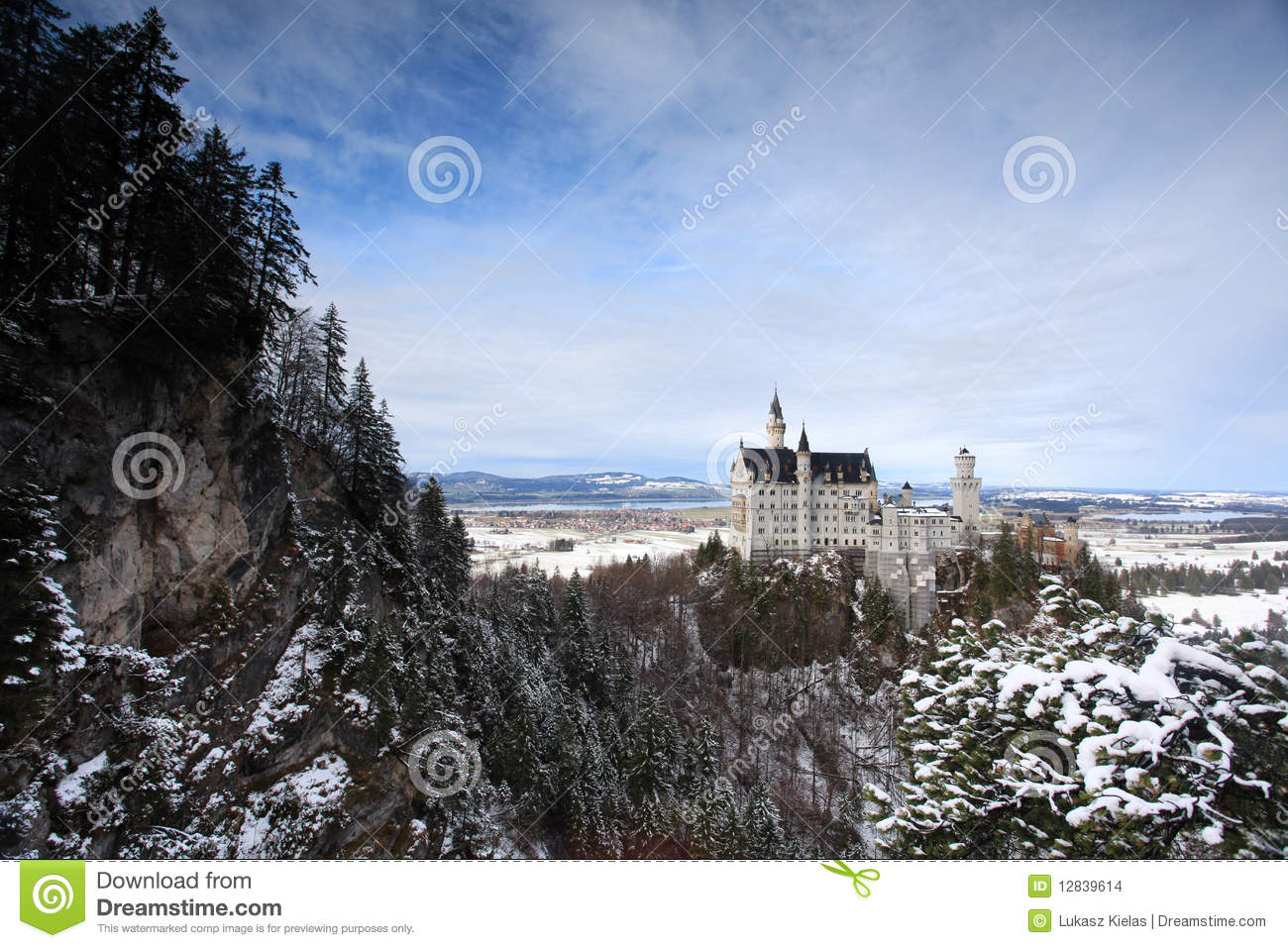 Neuschwanstein Castle In Germany Stock Images Image