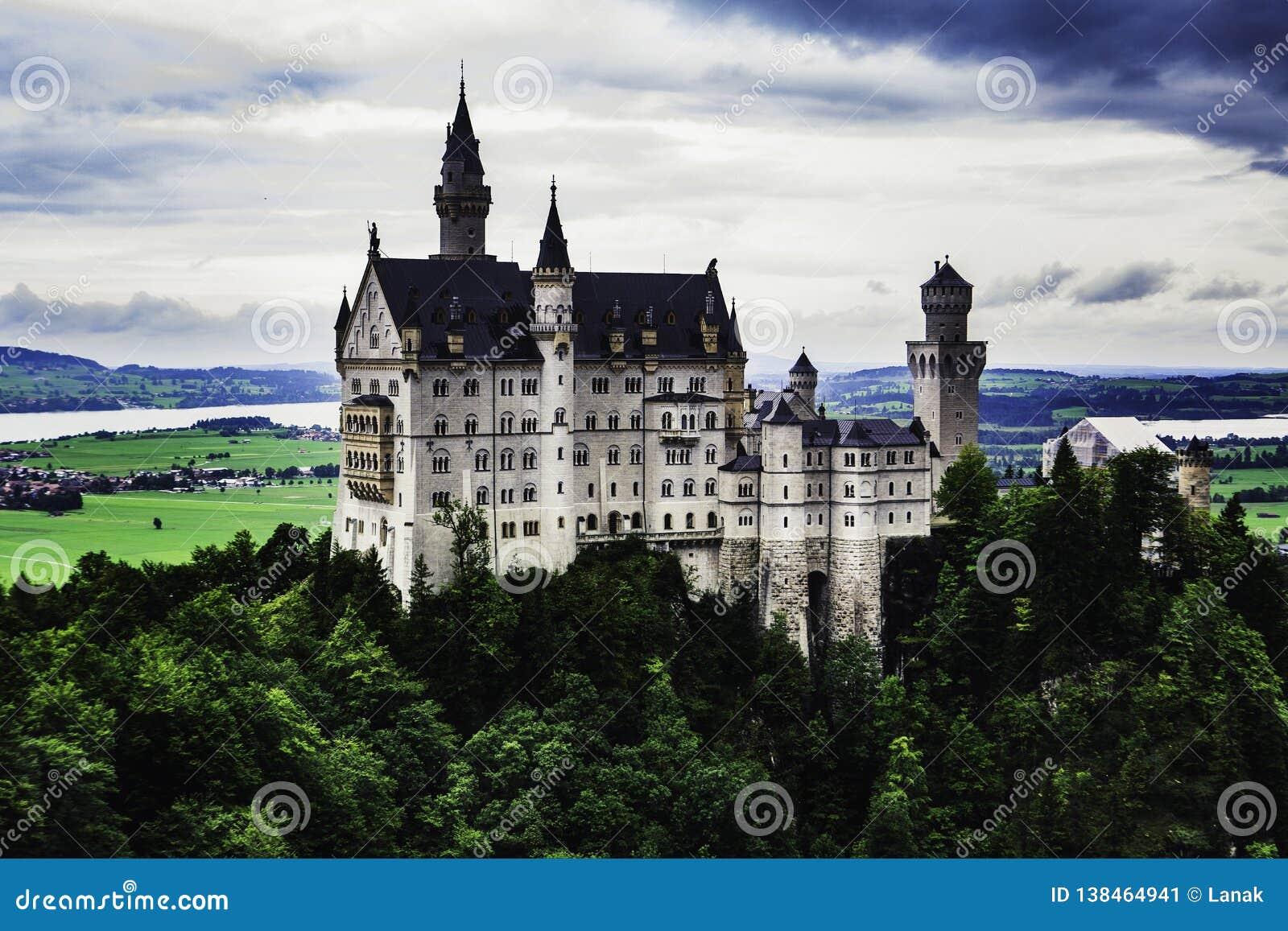 Neuschwanstein Schloss in Deutschland