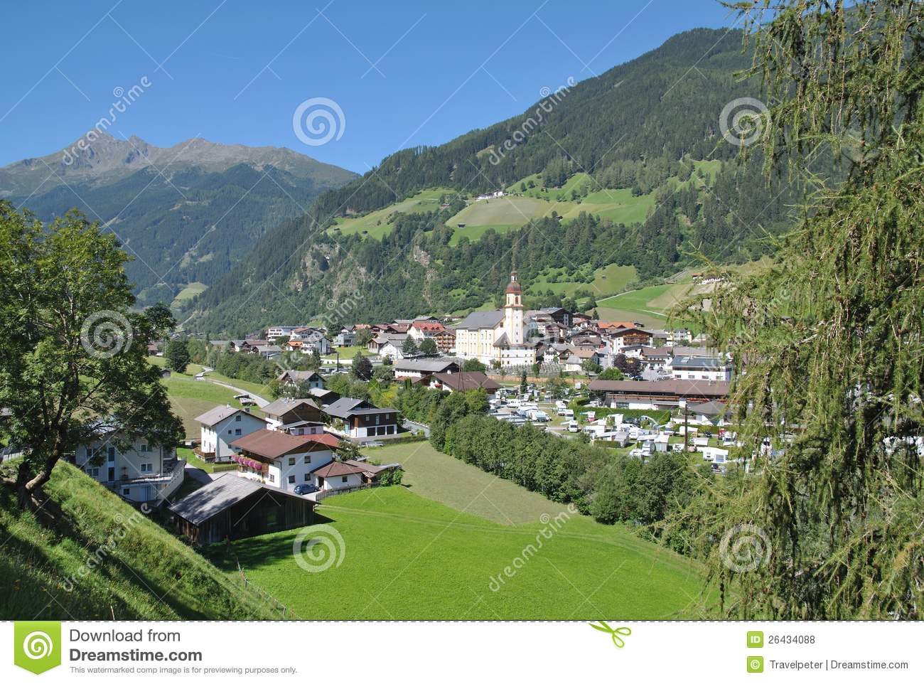 Neustift im Stubaital Austria  City new picture : The Village of Neustift im Stubaital,tirol,austria.