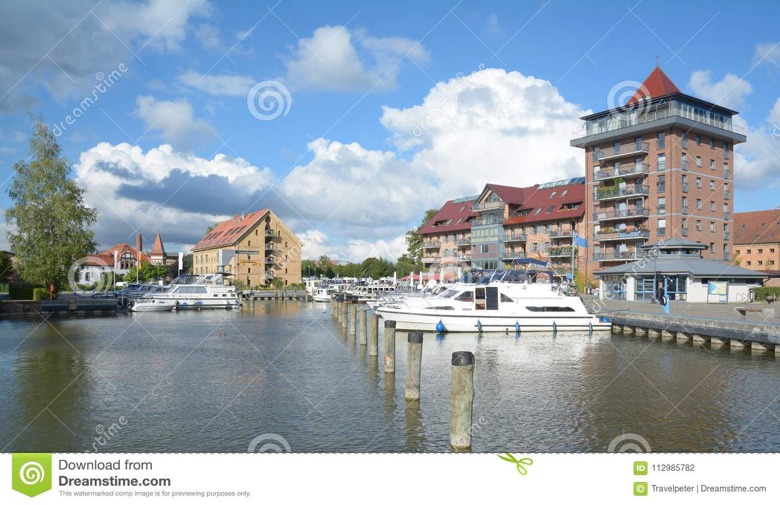 Neustrelitz,Mecklenburg Lake District,Germany