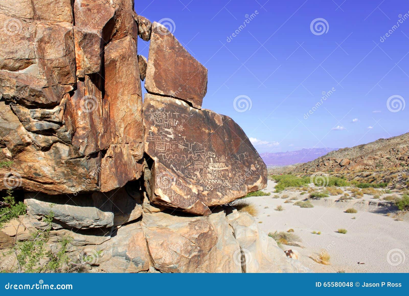 Nevada Desert Rock Petroglyphs