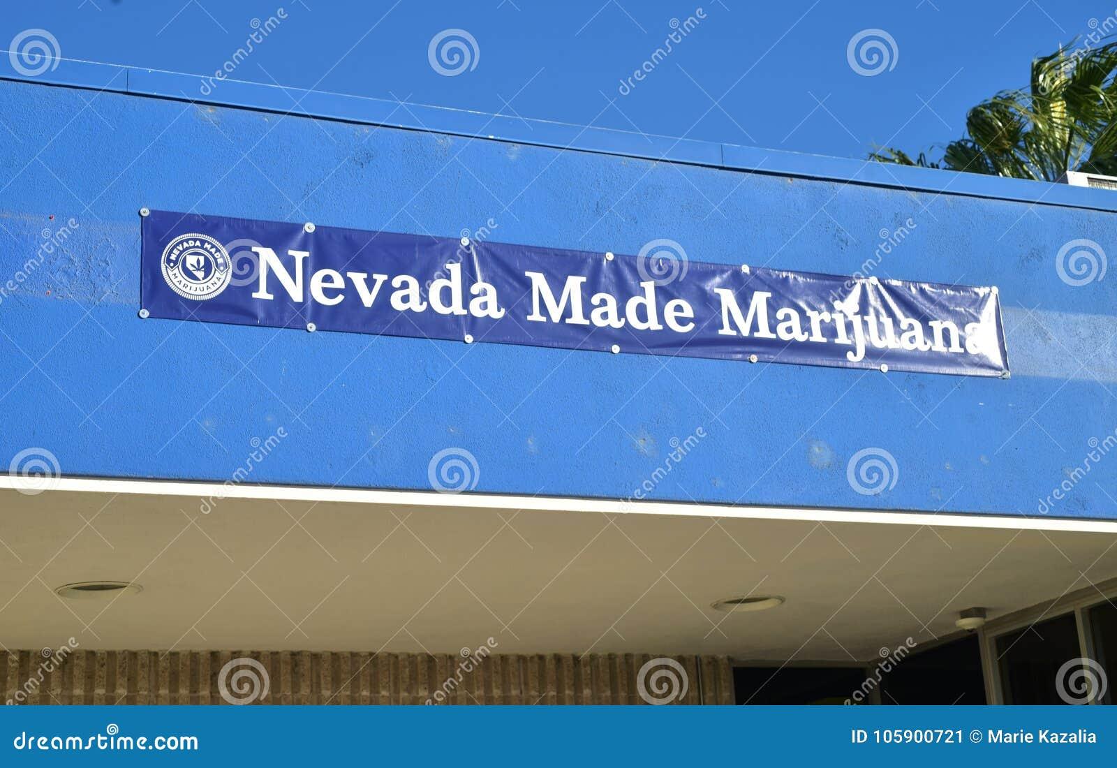 Nevada Made Marijuana Recreational Sales Dispensary