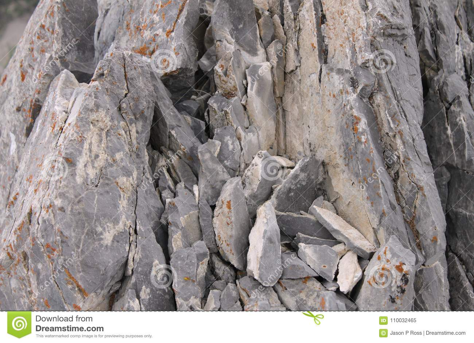 Nevada Rock Background