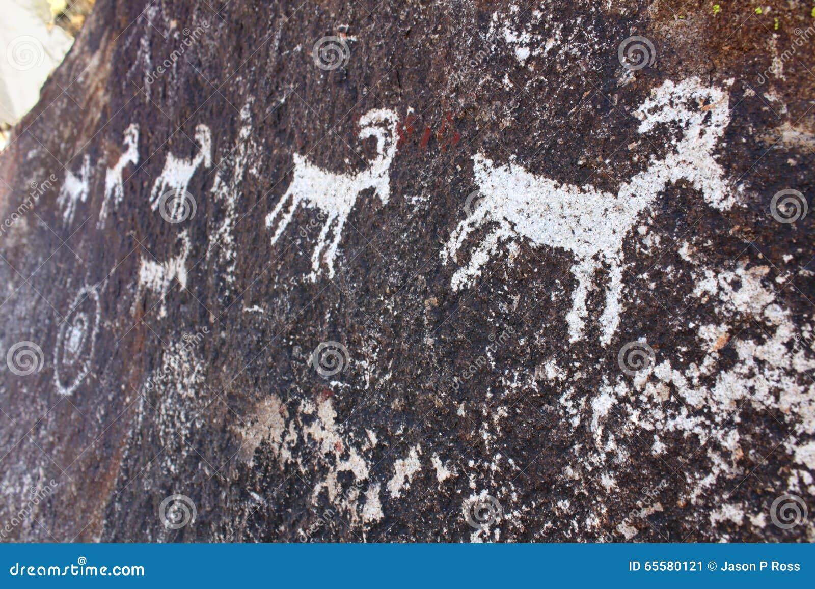 Nevada Rock Petroglyphs