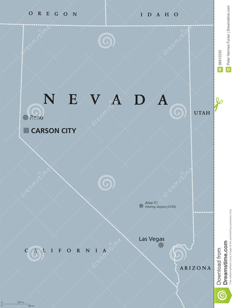 on carson city california map