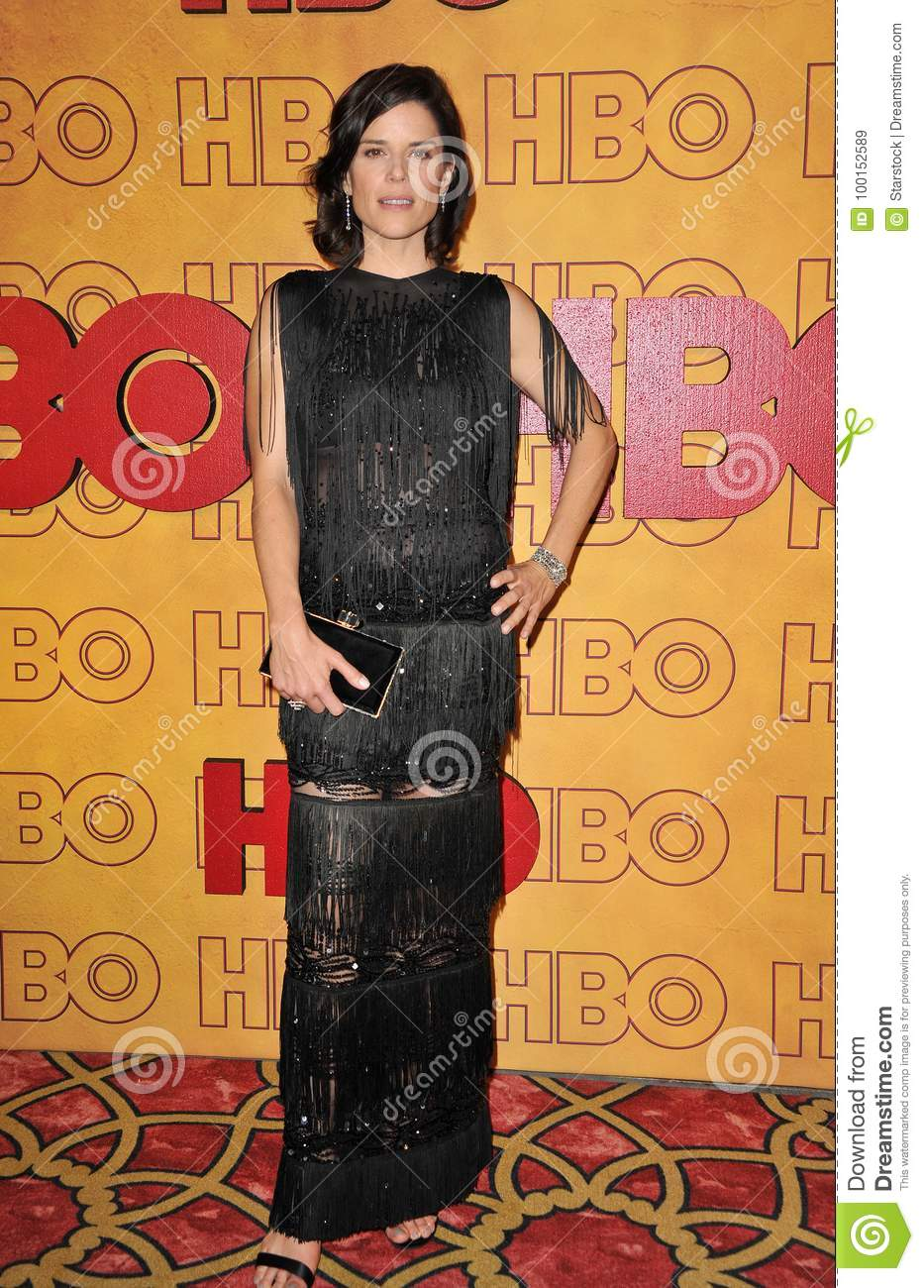 Neve Campbell Editorial Stock Image Image Of Actresses 100152589