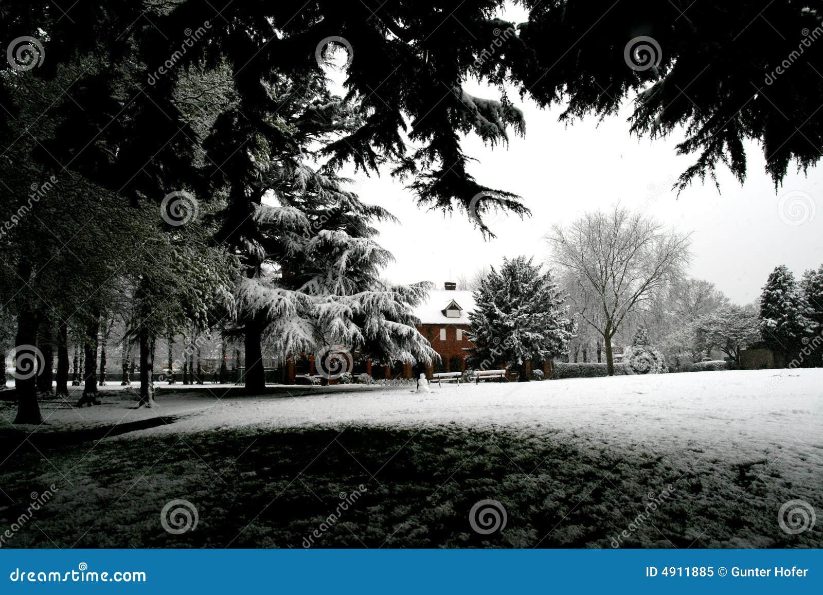 Neve em abril