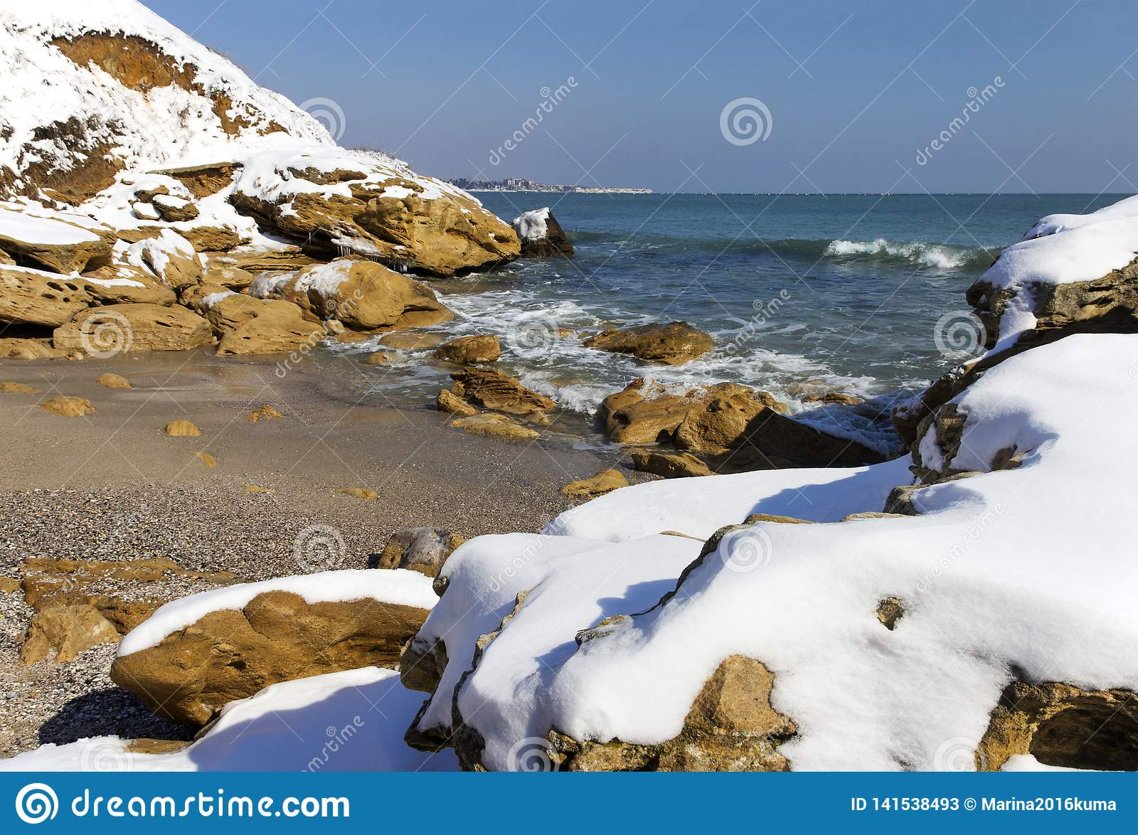 Neve no mar