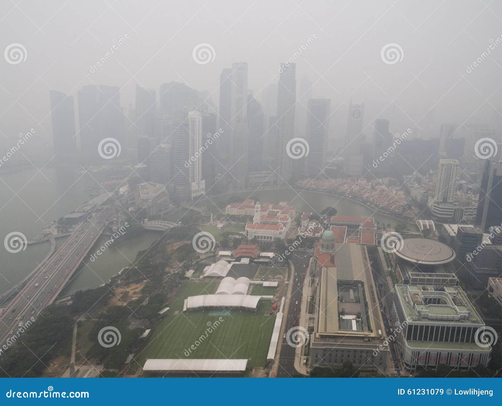 Nevel over Singapore