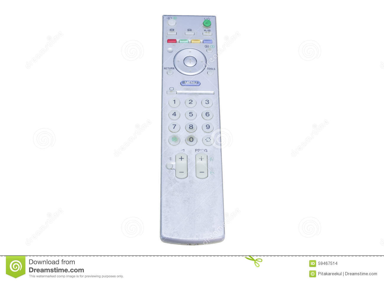 how to clean remote control