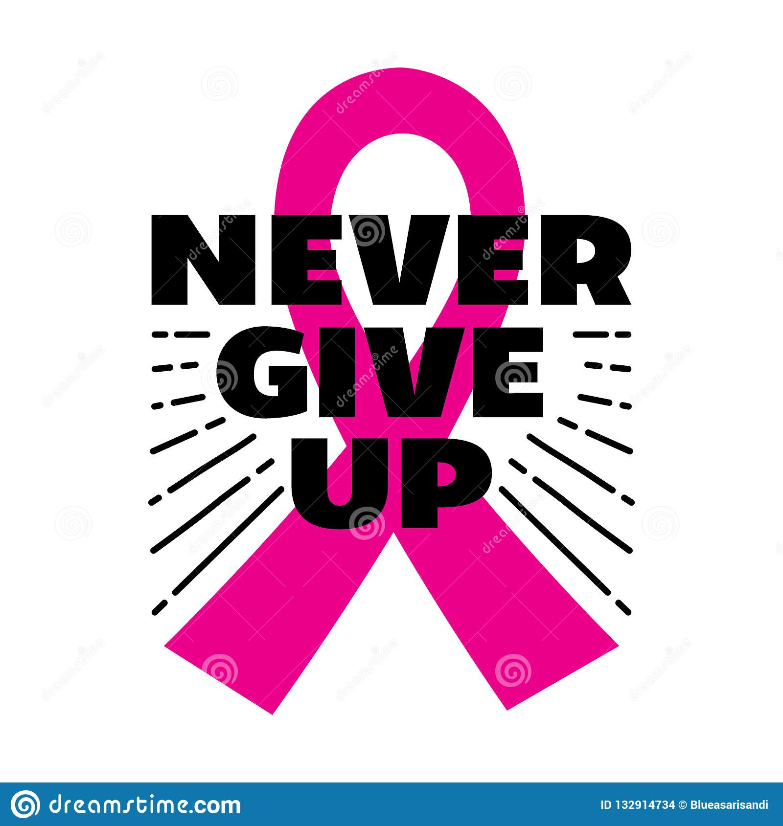 Breast Cancer Quote And Saying Stock Vector - Illustration ...