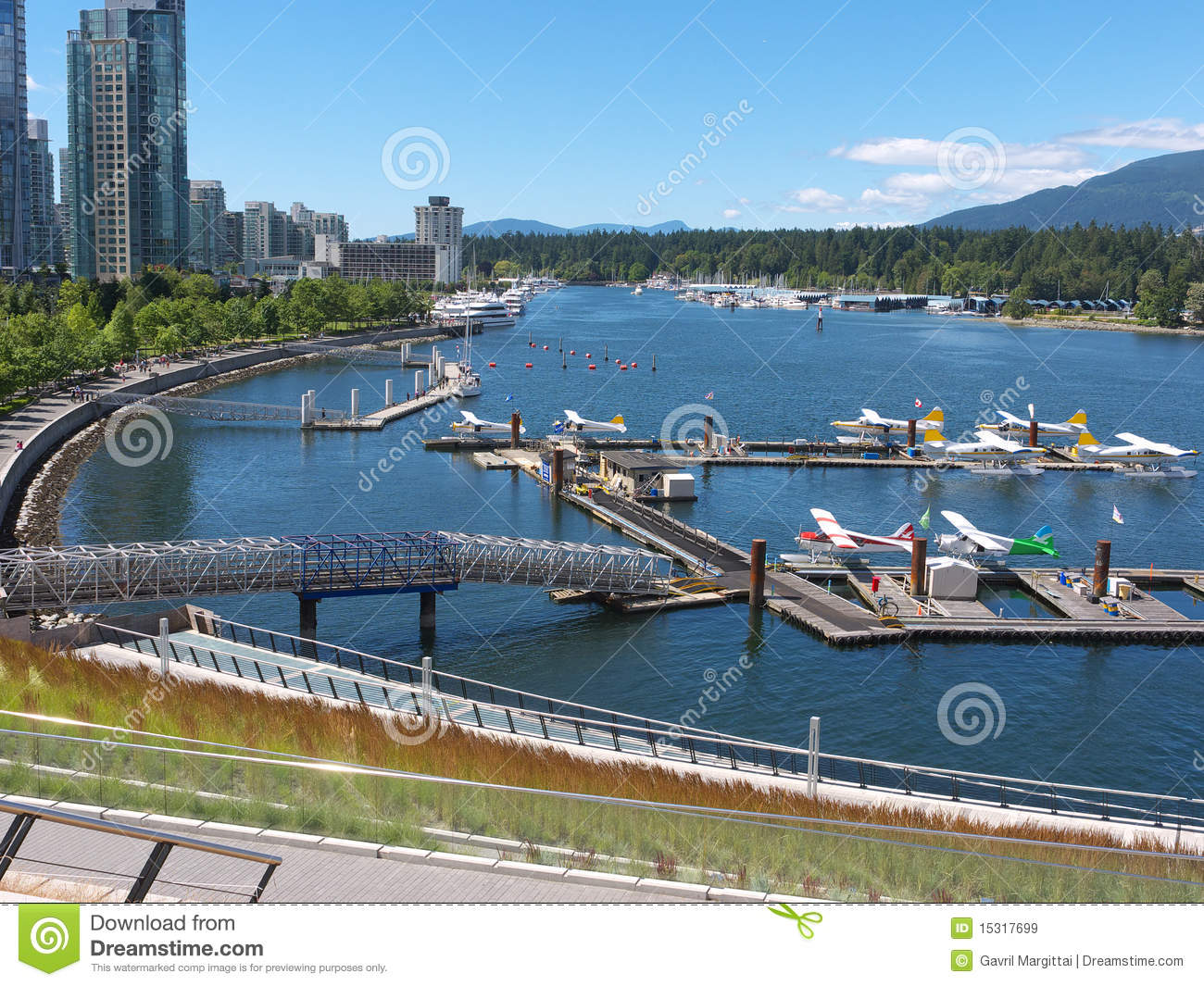 New airport at Coal Harbor Vancouver