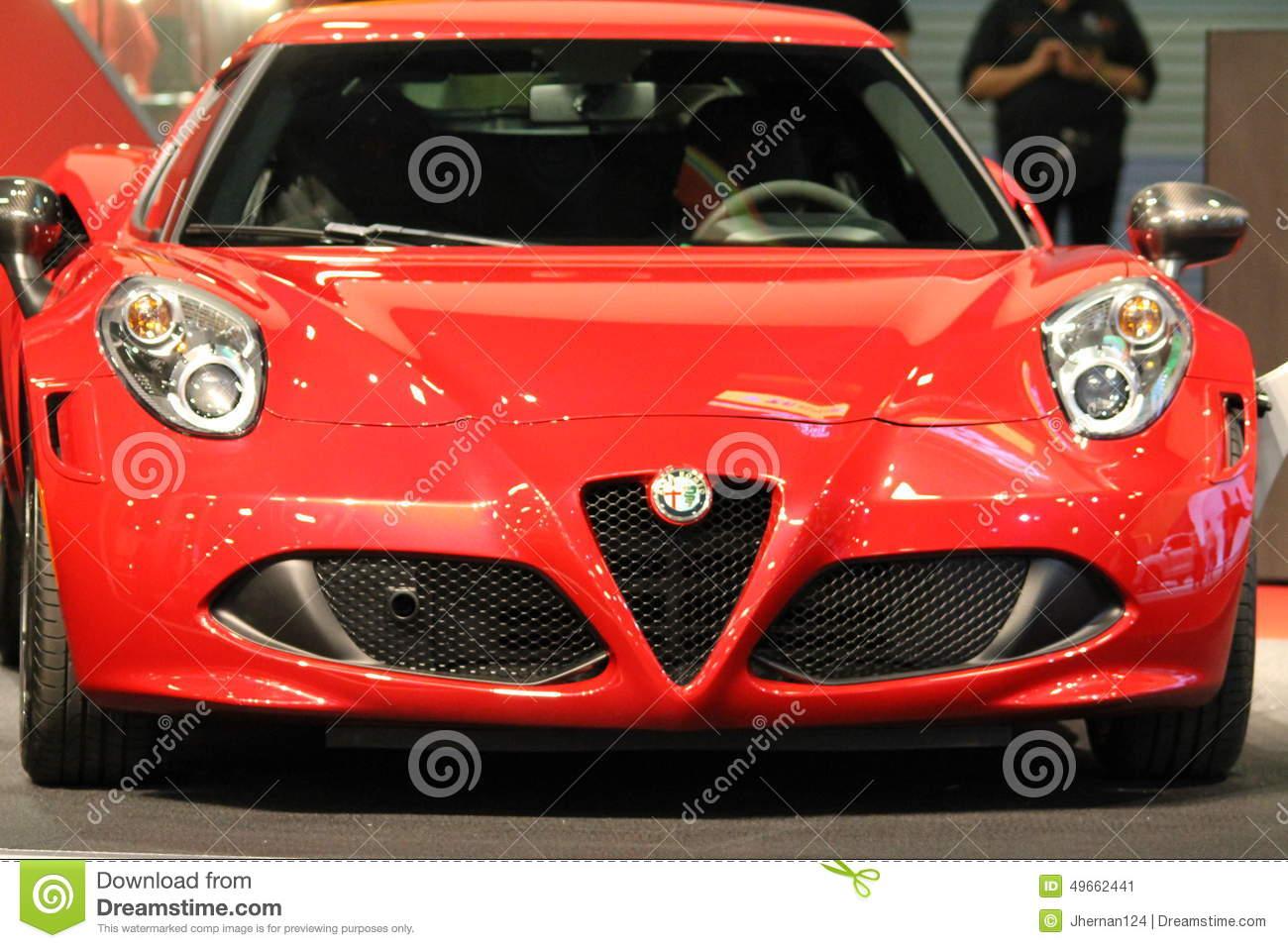 South Florida Car Shows: New Alfa Romeo Sportscar Editorial Photo