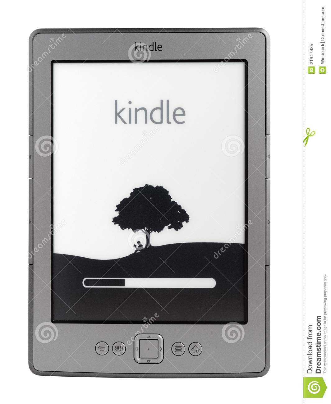 New Amazon Kindle E-Reader 4th Generation Editorial Image ...
