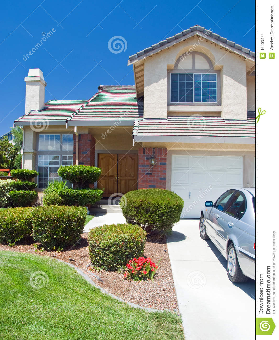 New american dream home royalty free stock images image for New american homes