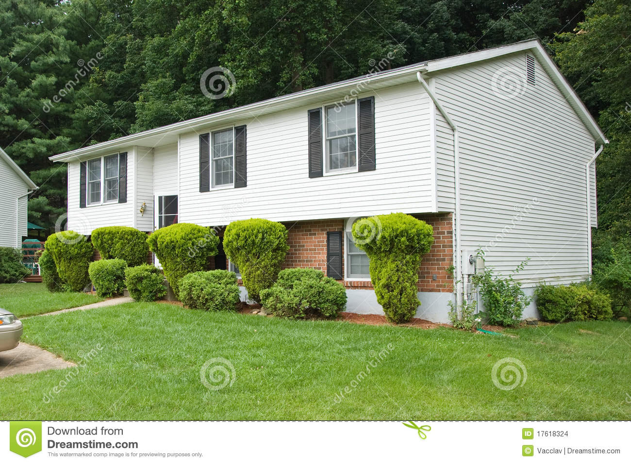New American Dream Home Stock Images Image 17618324