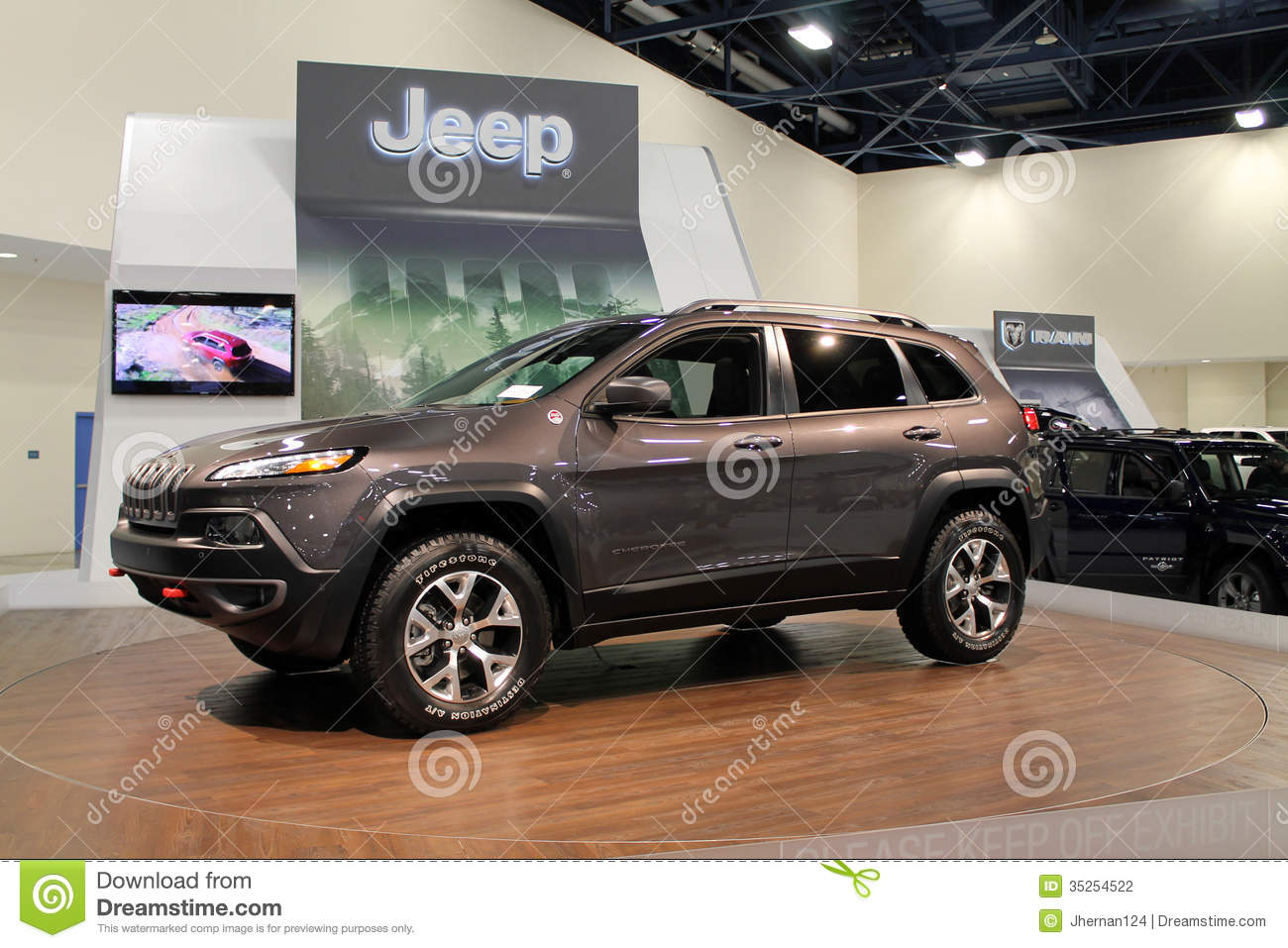 New American Iconic Suv At Auto Show Editorial Photo Image