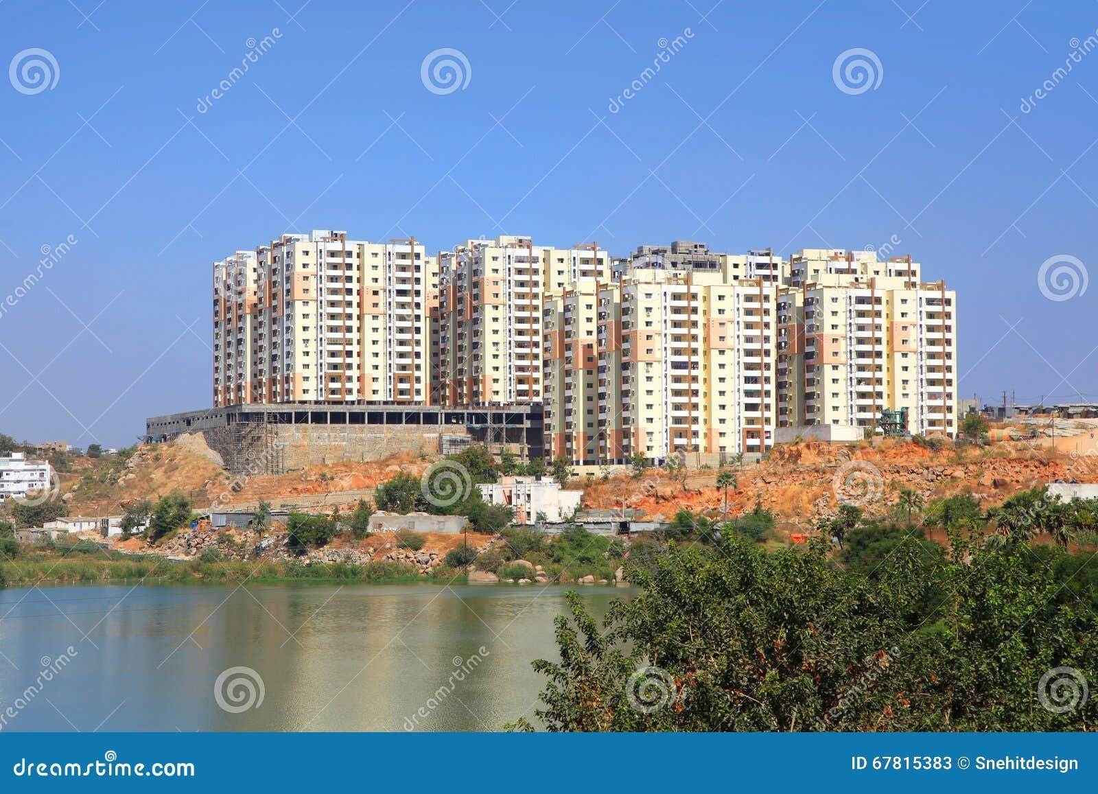 Apartment Building Construction new apartment building construction stock photo - image: 67815383