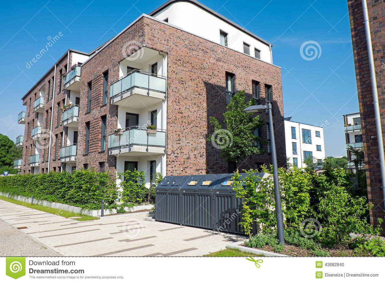 New Apartment House In Hamburg