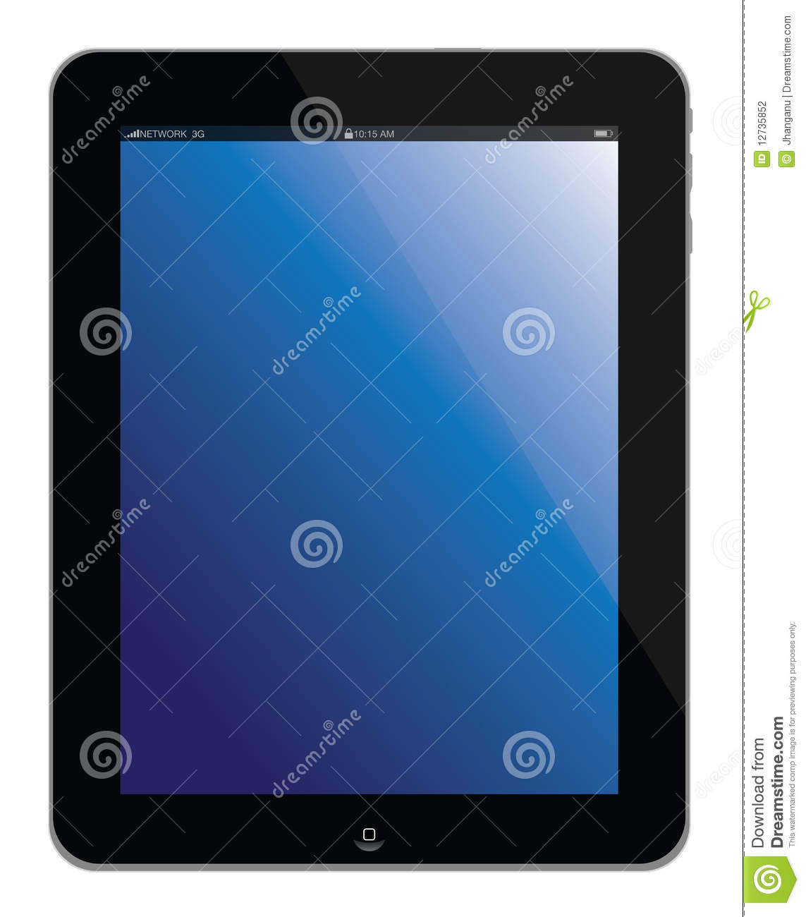 New Apple iPad portable computer tablet