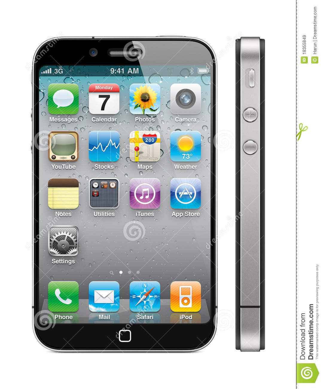 what is the newest apple iphone new apple iphone 5 concept editorial stock image image 22283