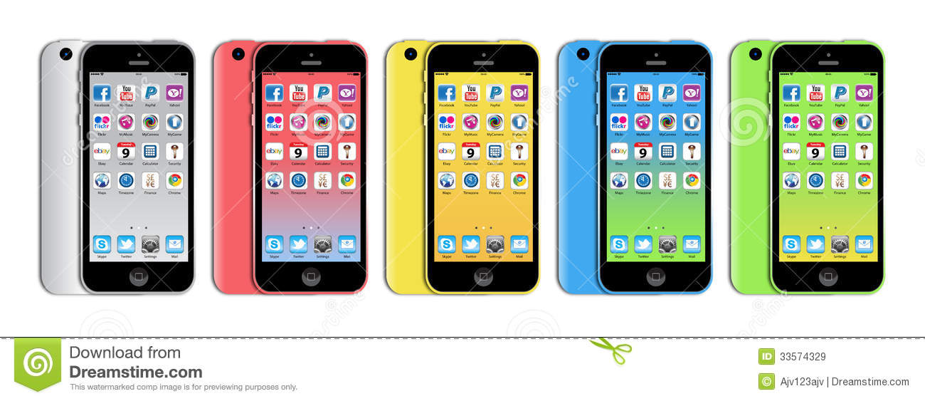 New Apple iphone 5c