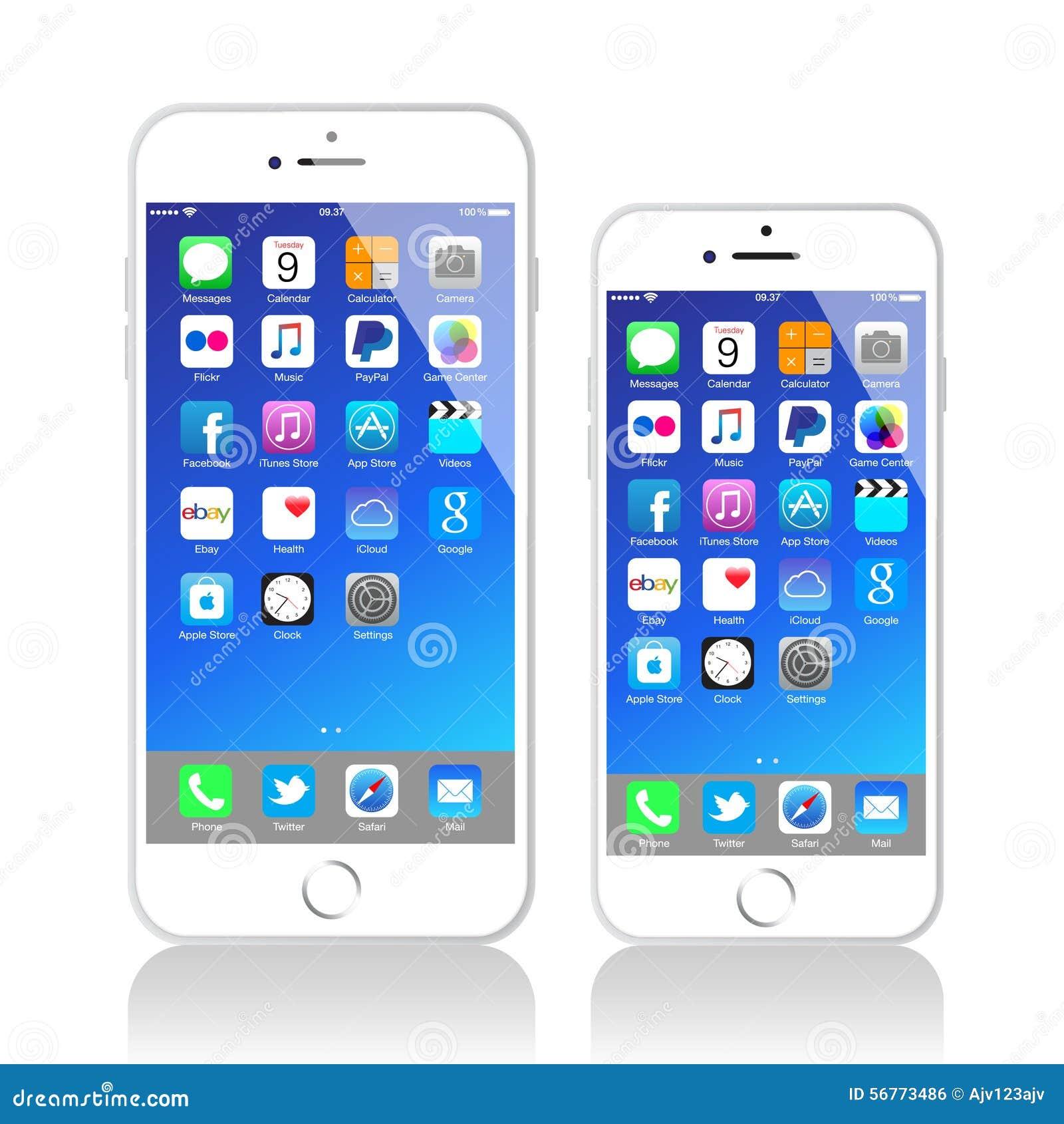 New Apple Iphone 6 Plus Editorial Photo