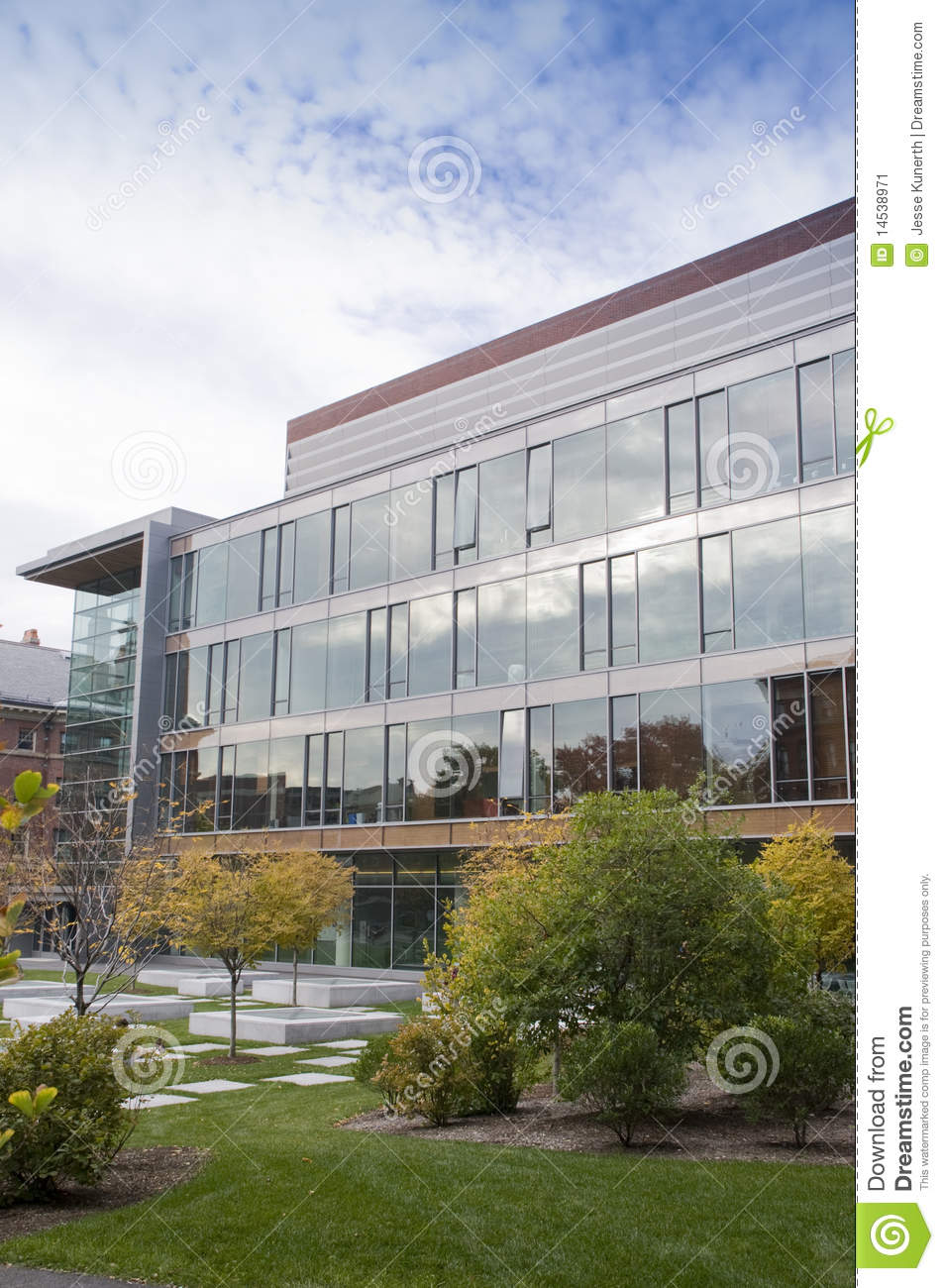 New Architecture At Harvard Stock Image Image 14538971
