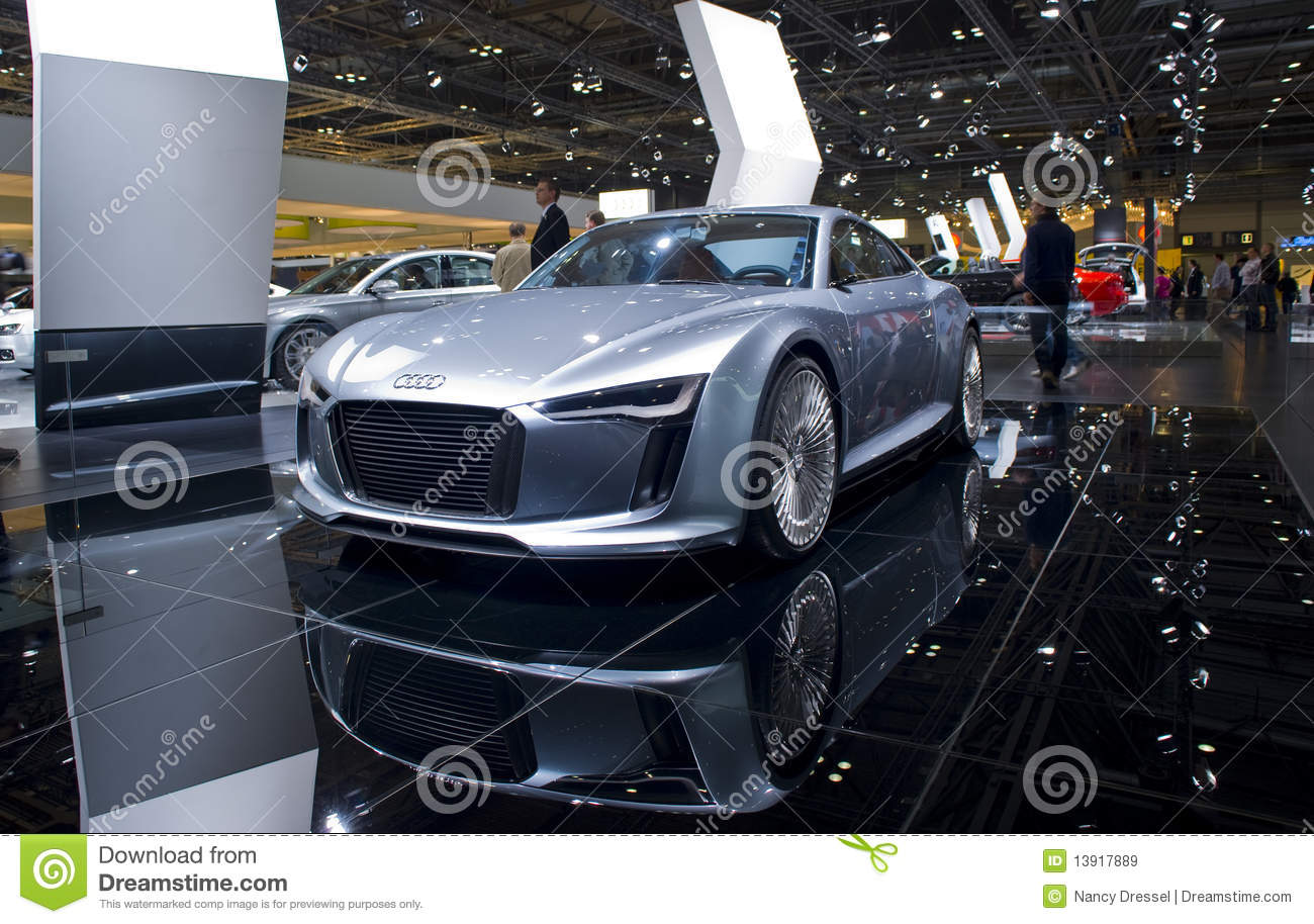 New Audi Futuristic Sports Car