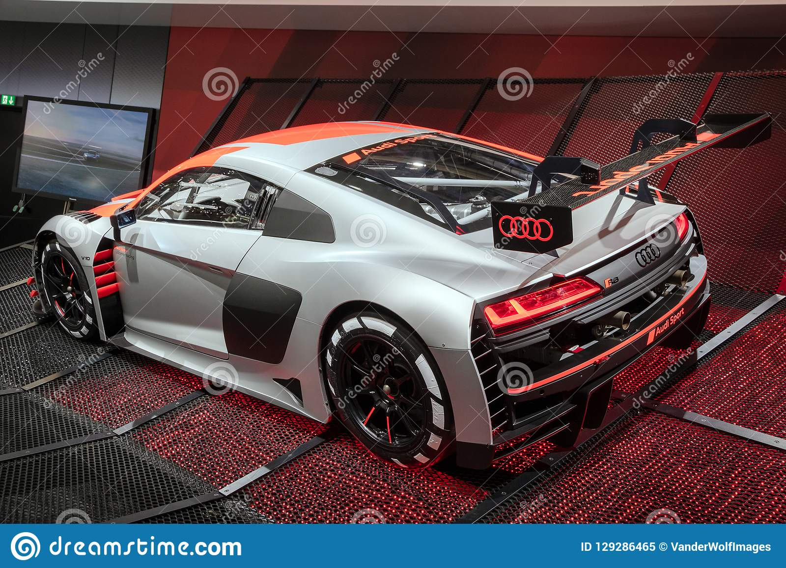 New Audi R8 Lms Gt3 Race Car Editorial Image Image Of Automotive