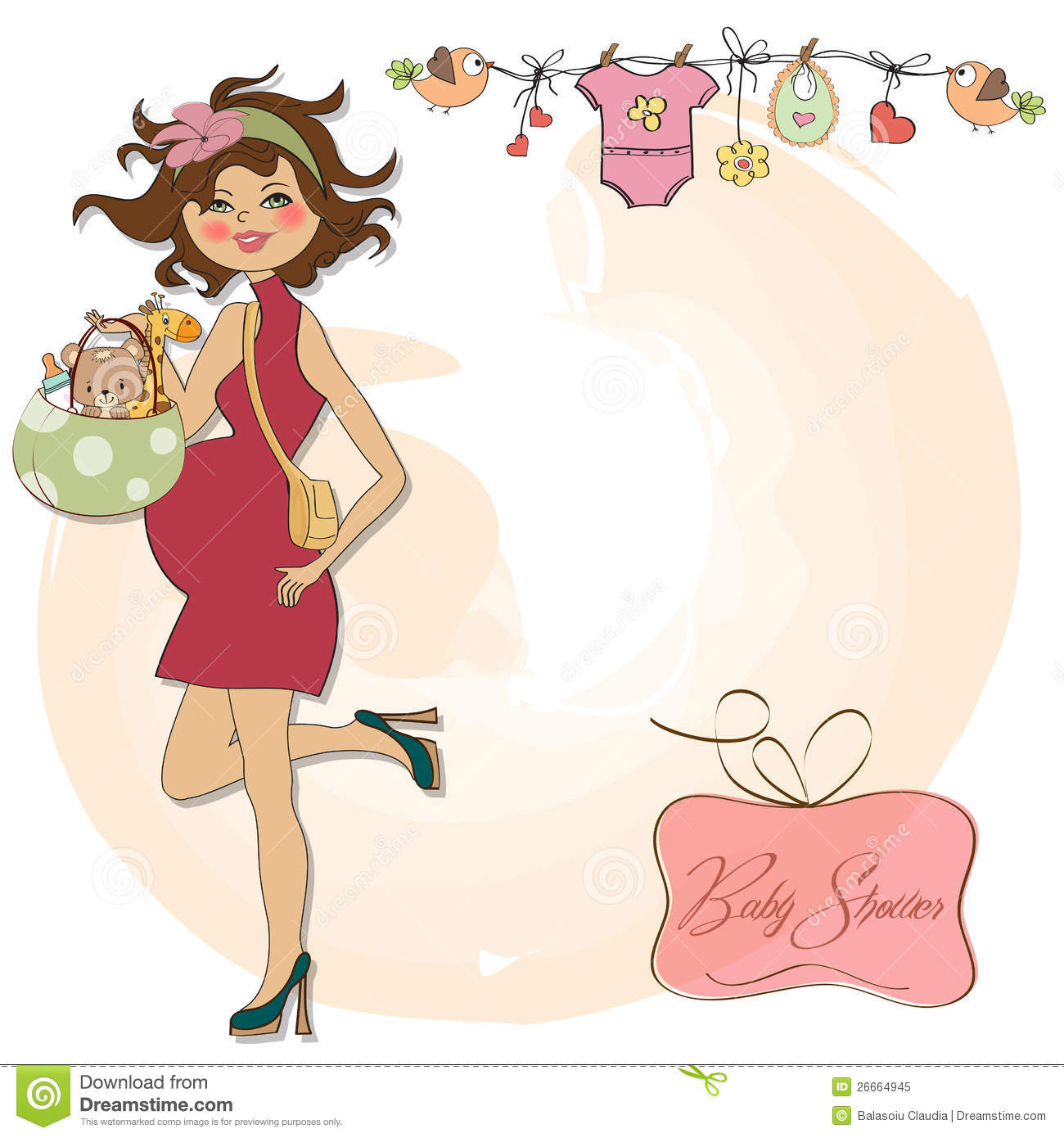 Expecting A Baby Clipart New Baby Announ...