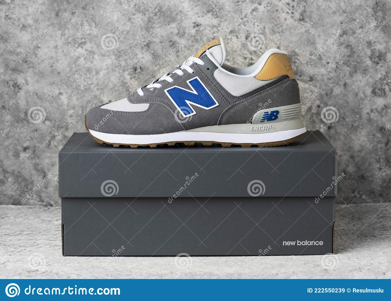 New Balance Shoes Model 574. Editorial Stock Image - Image of ...