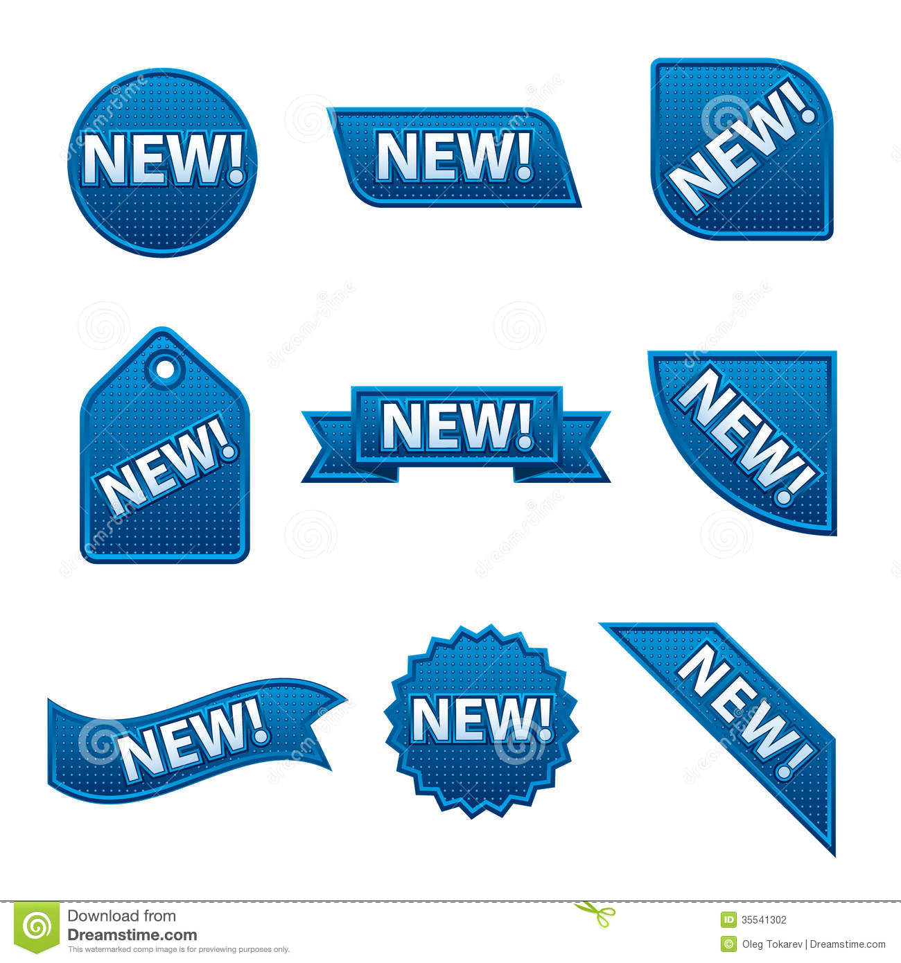 New Banners Stock Photography Image 35541302