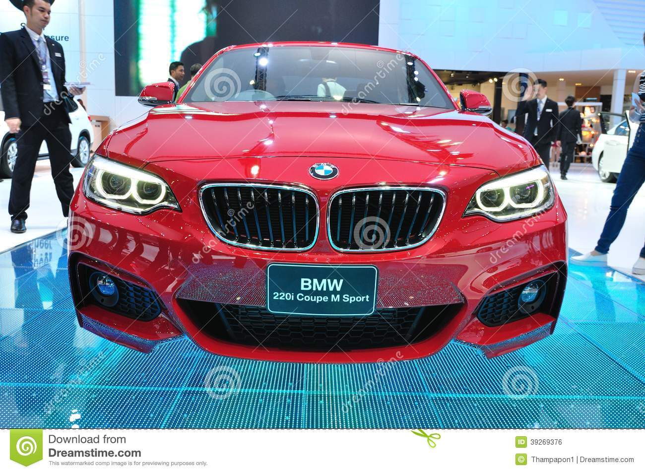 New Bmw 220i Coupe M Sport On Display Editorial Photo