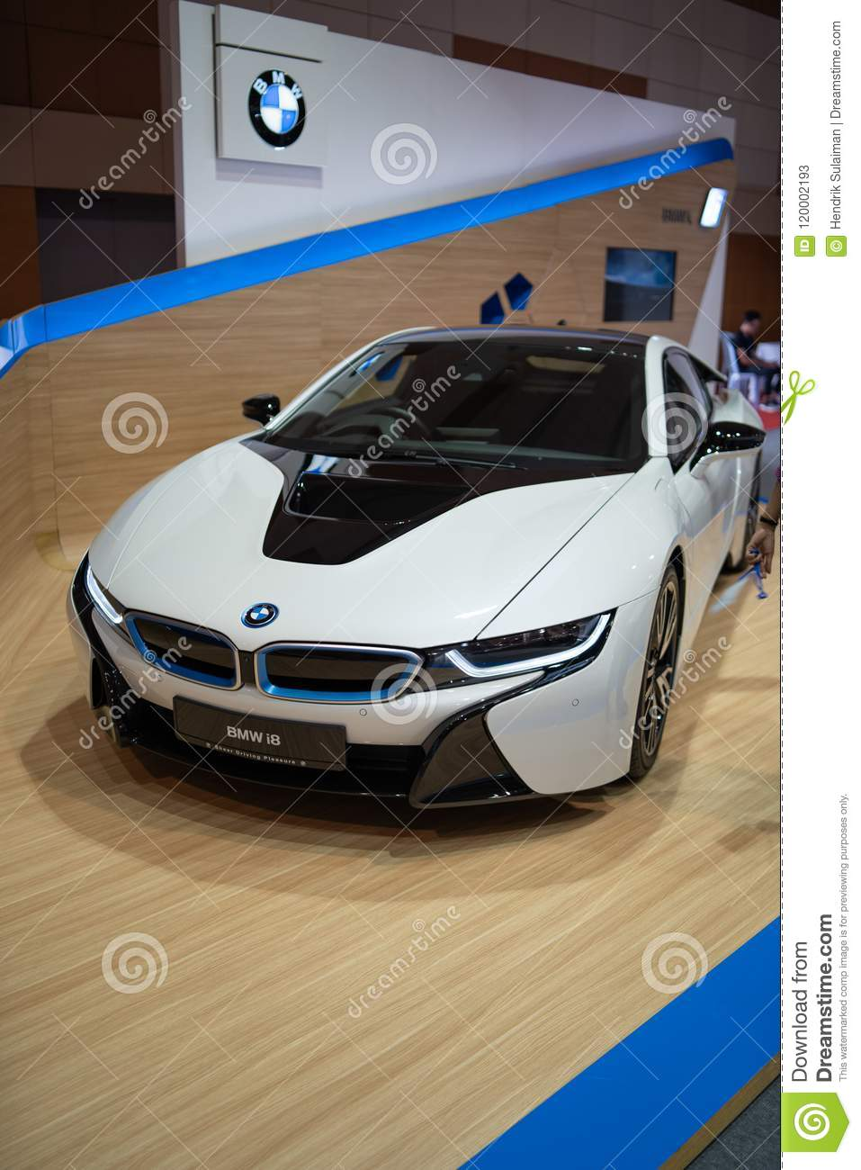 New Bmw I8 2018 Editorial Stock Photo Image Of Event 120002193