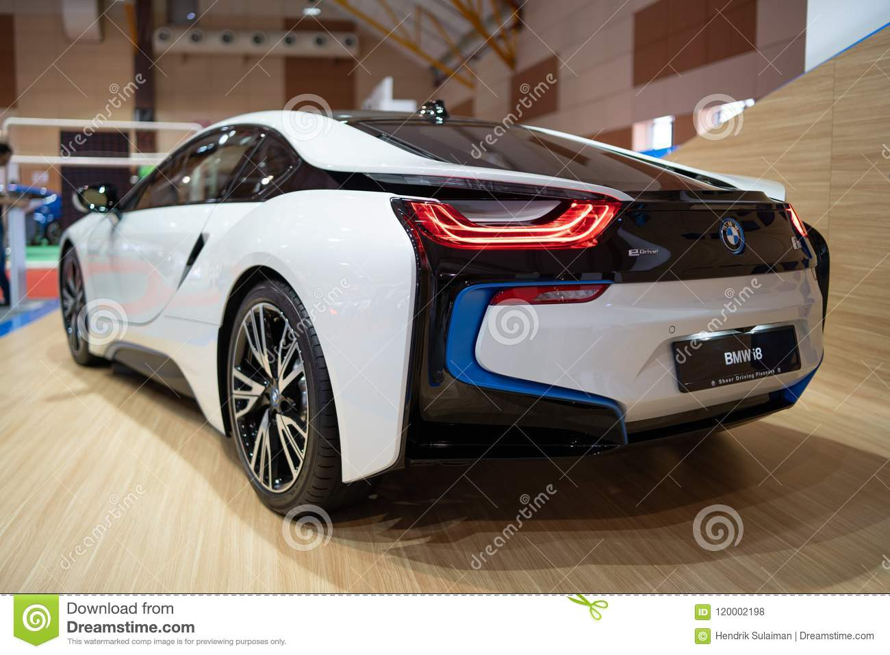 New Bmw I8 2018 Editorial Stock Photo Image Of Sports 120002198