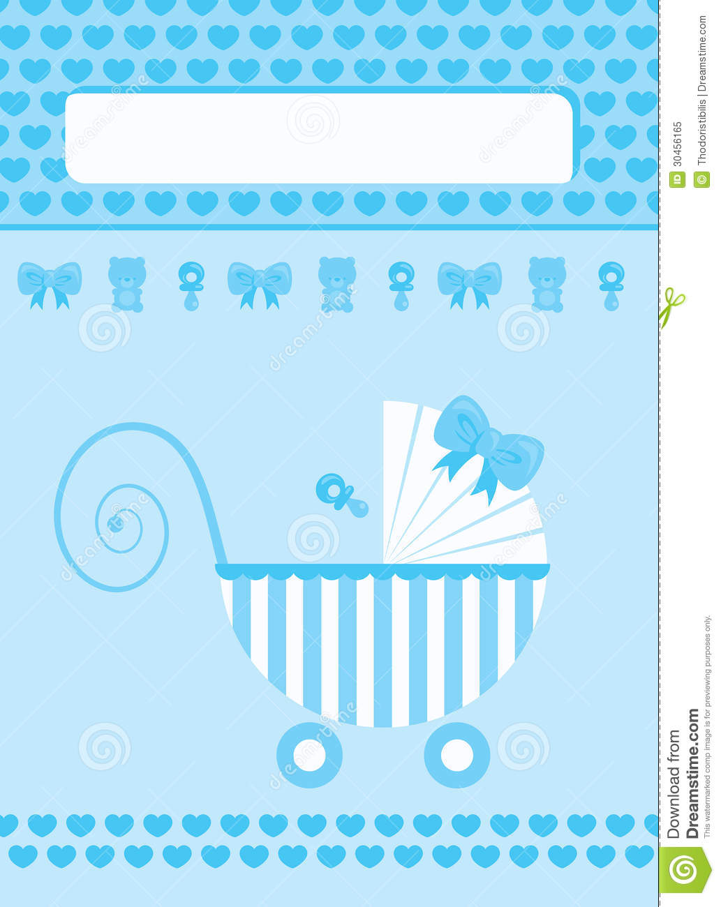 New born baby boy greeting card stock vector illustration of new born baby boy greeting card m4hsunfo